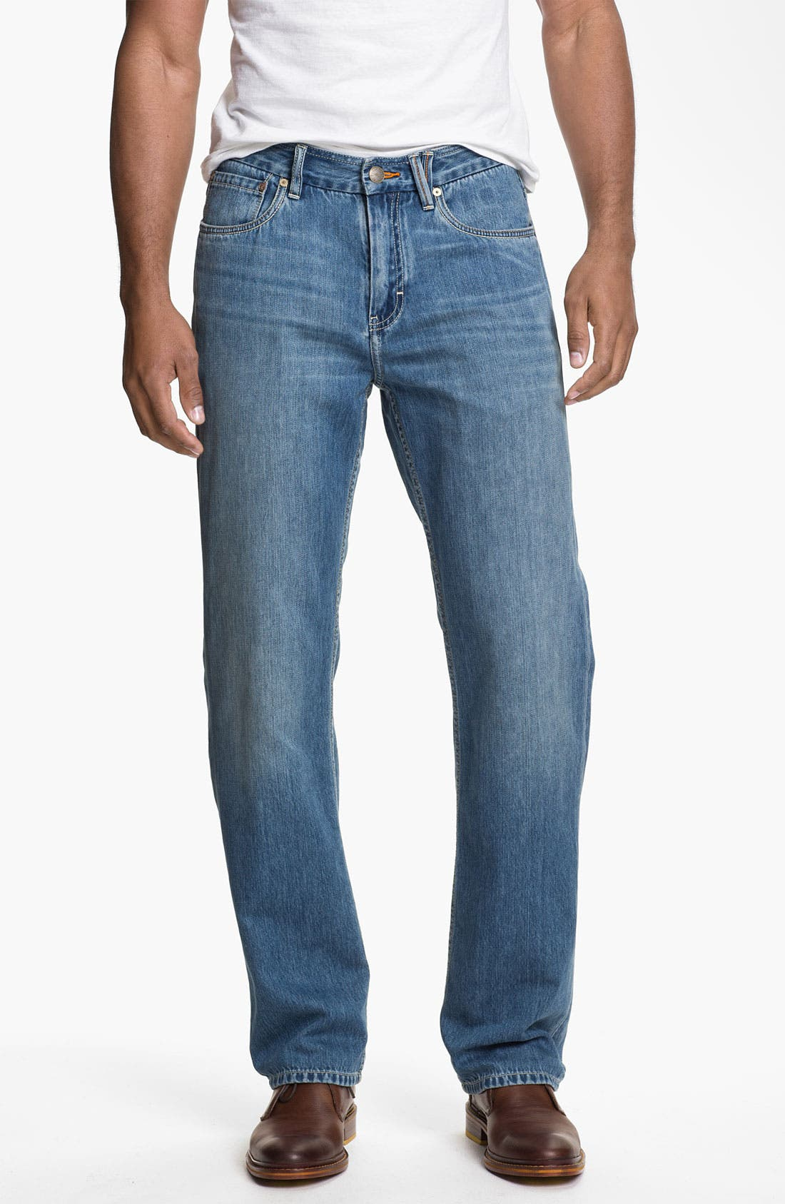 Alternate Image 1 Selected - Tommy Bahama Denim 'Coastal Island Ease' Straight Leg Jeans (Light)