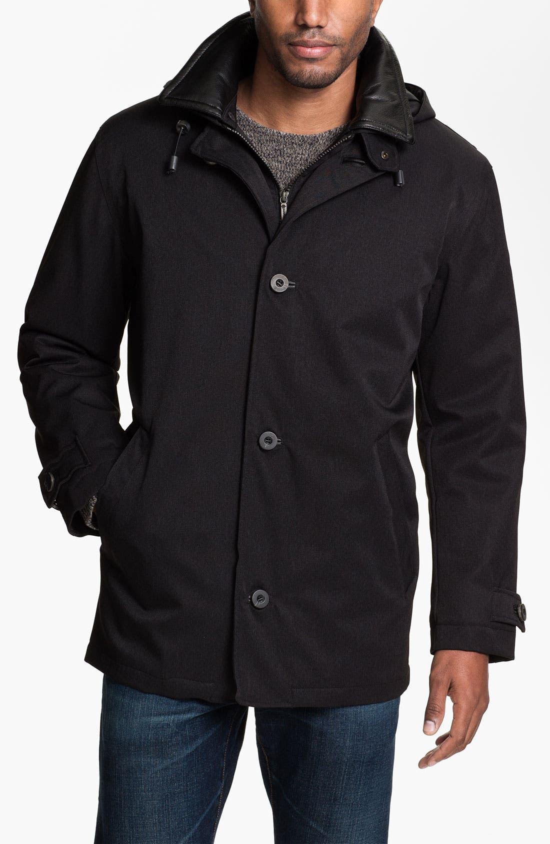 Alternate Image 1 Selected - RAINFOREST Waterproof Mélange Jacket