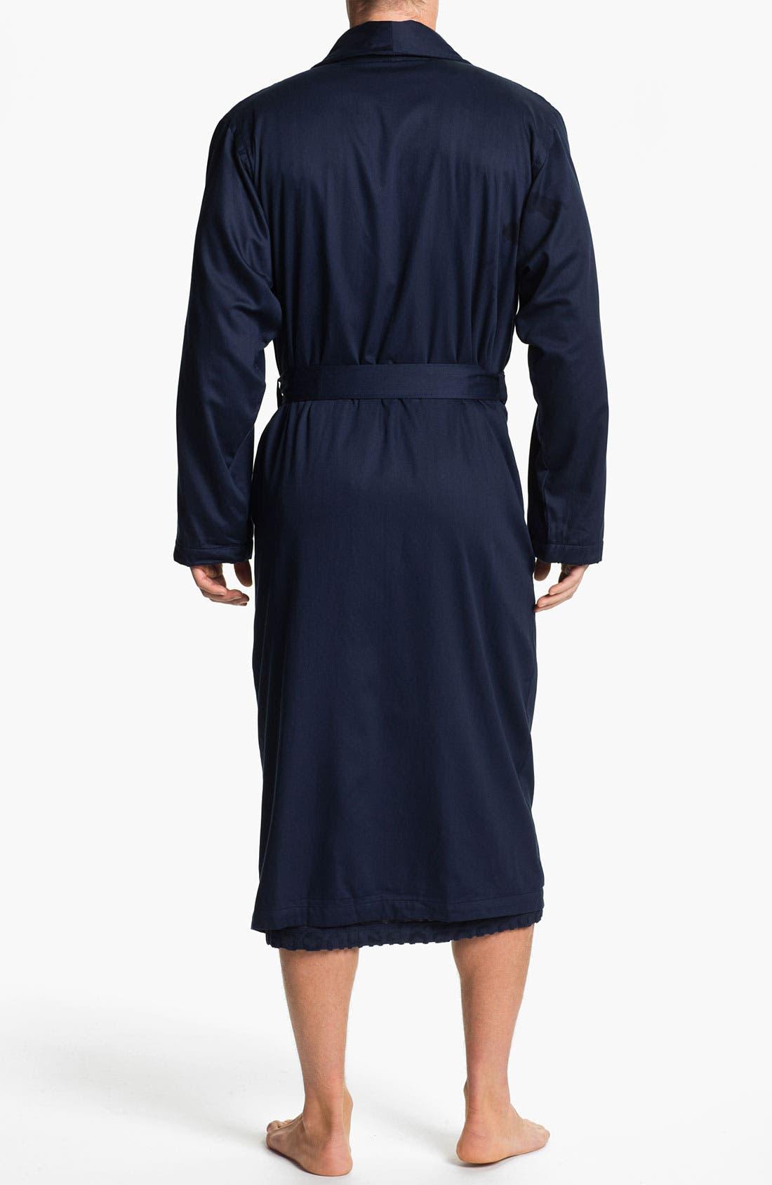 Alternate Image 2  - BOSS Black Shawl Collar 'Innovation 6' Robe