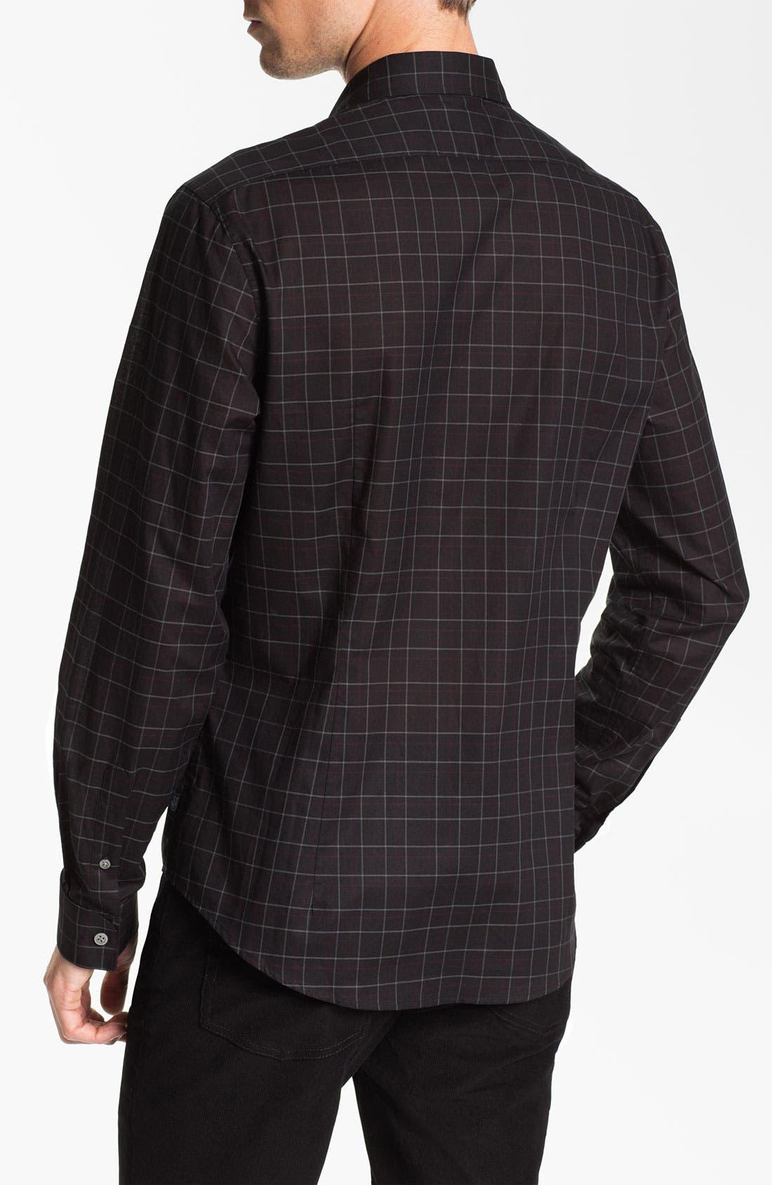 Alternate Image 2  - John Varvatos Star USA Trim Fit Sport Shirt