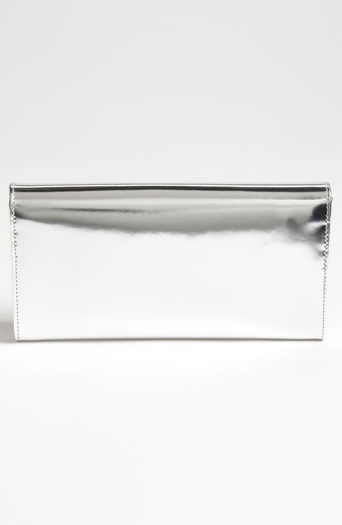 Alternate Image 4  - Jimmy Choo 'Reese' Metallic Leather Clutch