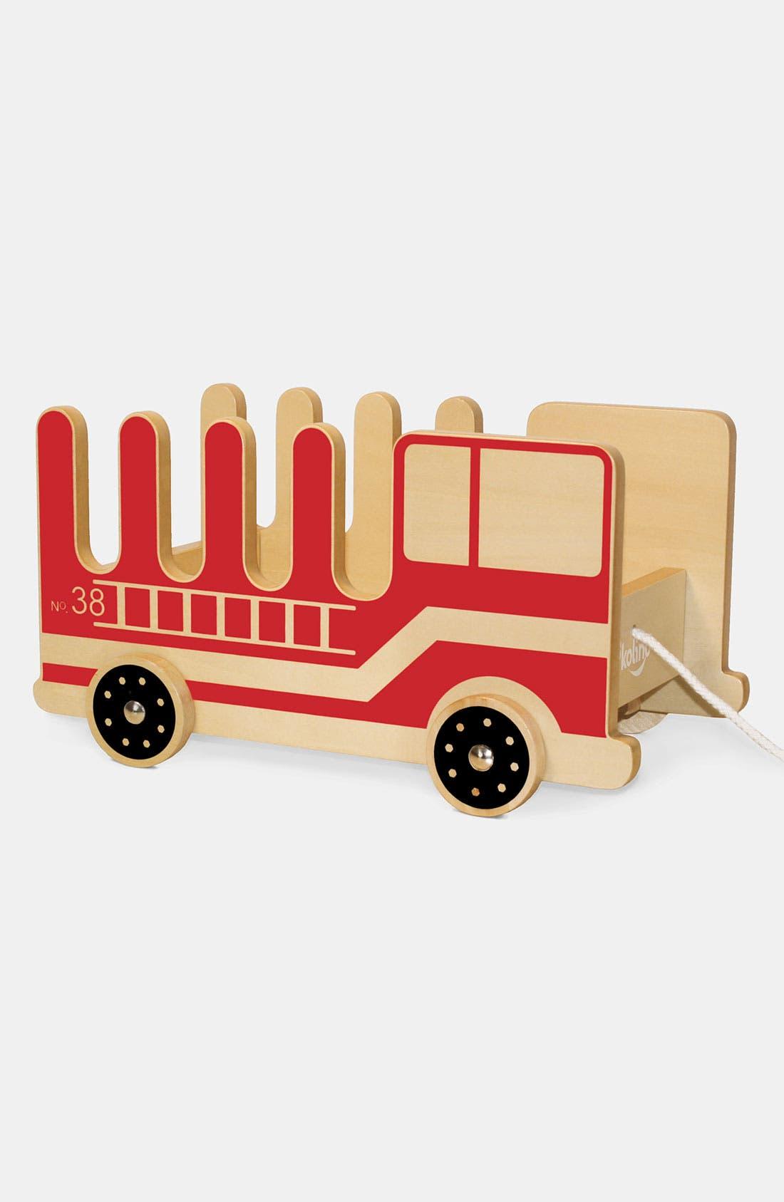 Alternate Image 1 Selected - P'kolino 'Fire Truck' Book Buggy