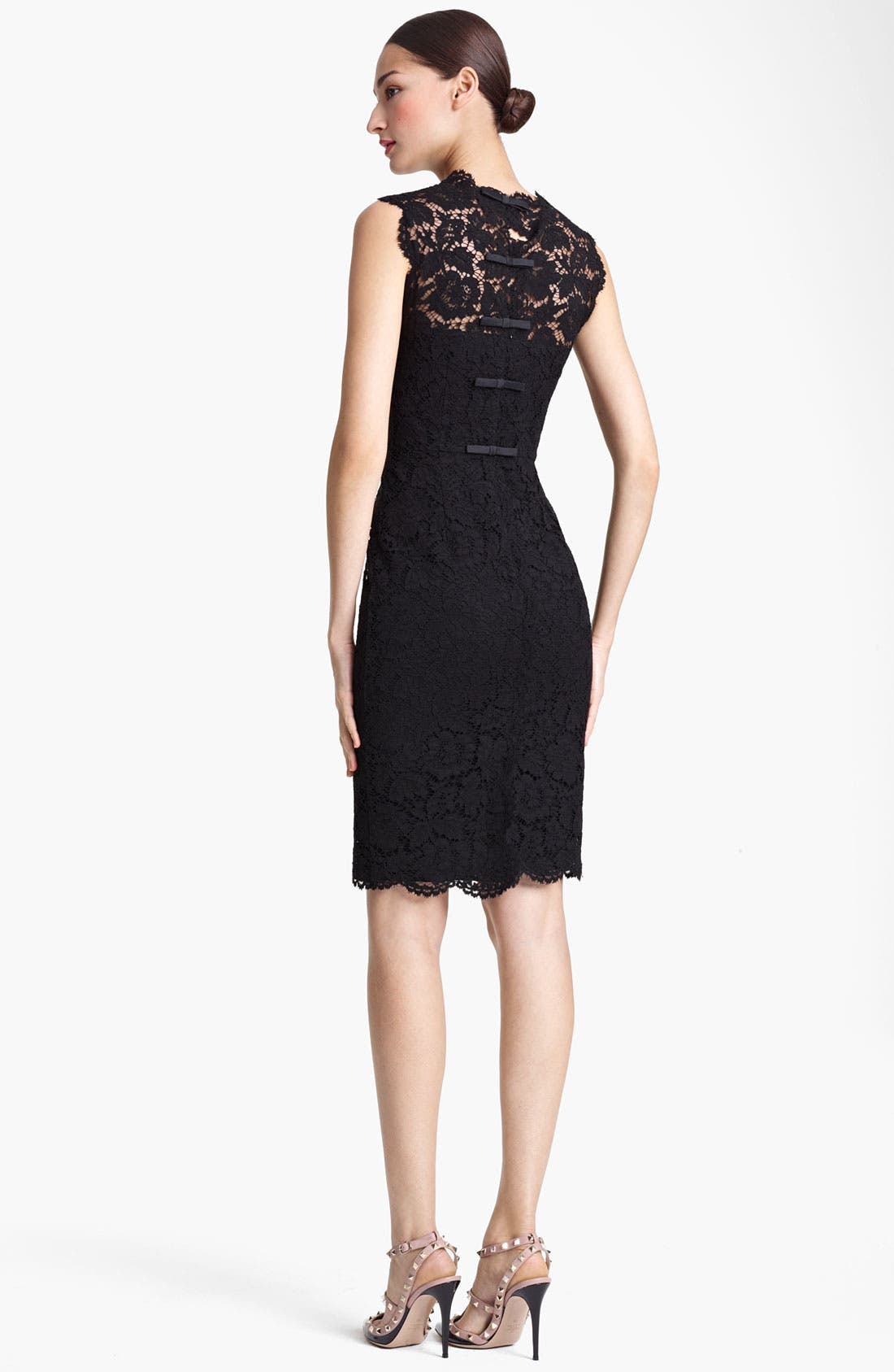Alternate Image 2  - Valentino Lace Sheath Dress