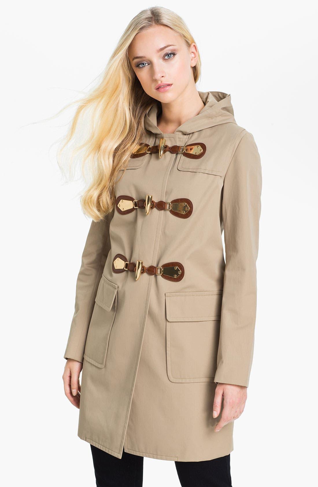 Alternate Image 1 Selected - MICHAEL Michael Kors Toggle Duffle Coat