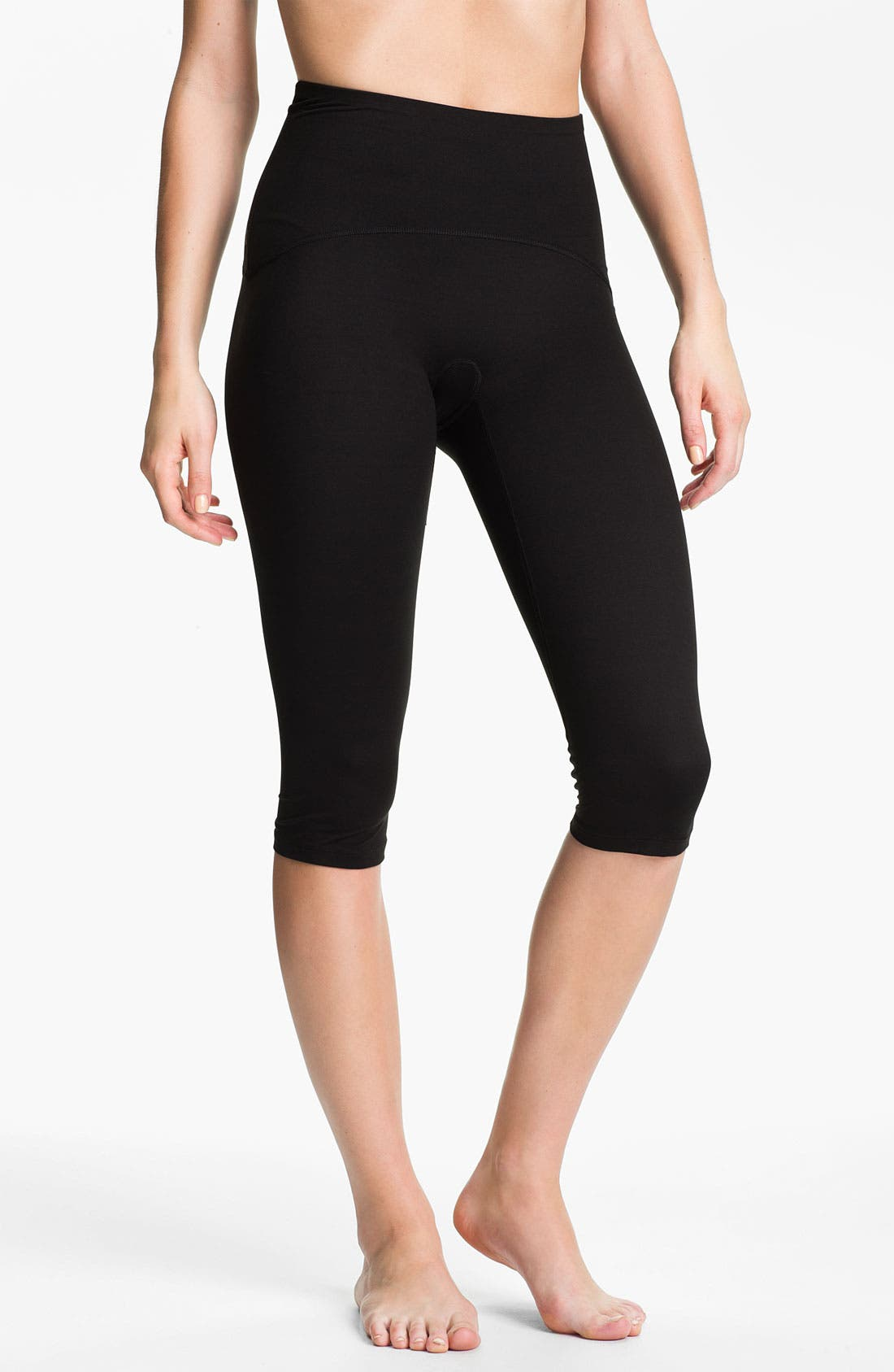 Main Image - SPANX® Shaping Compression Knee Workout Pants