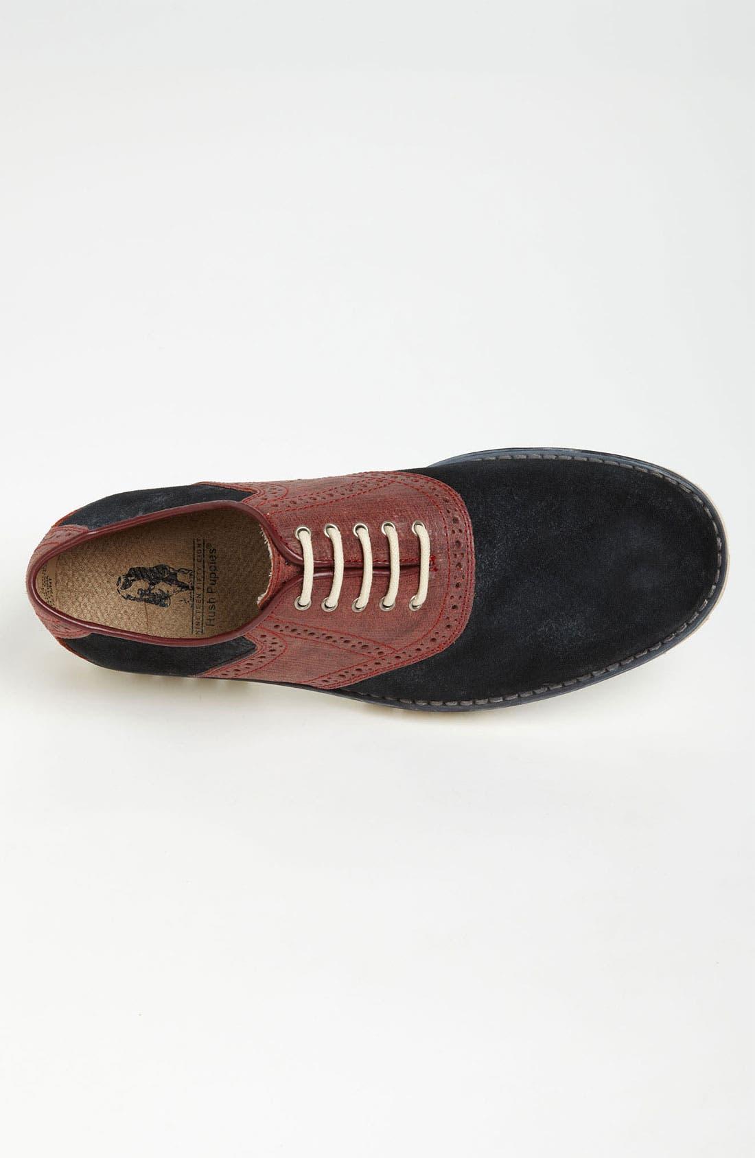 Alternate Image 3  - Hush Puppies® 'Authentic' Saddle Shoe