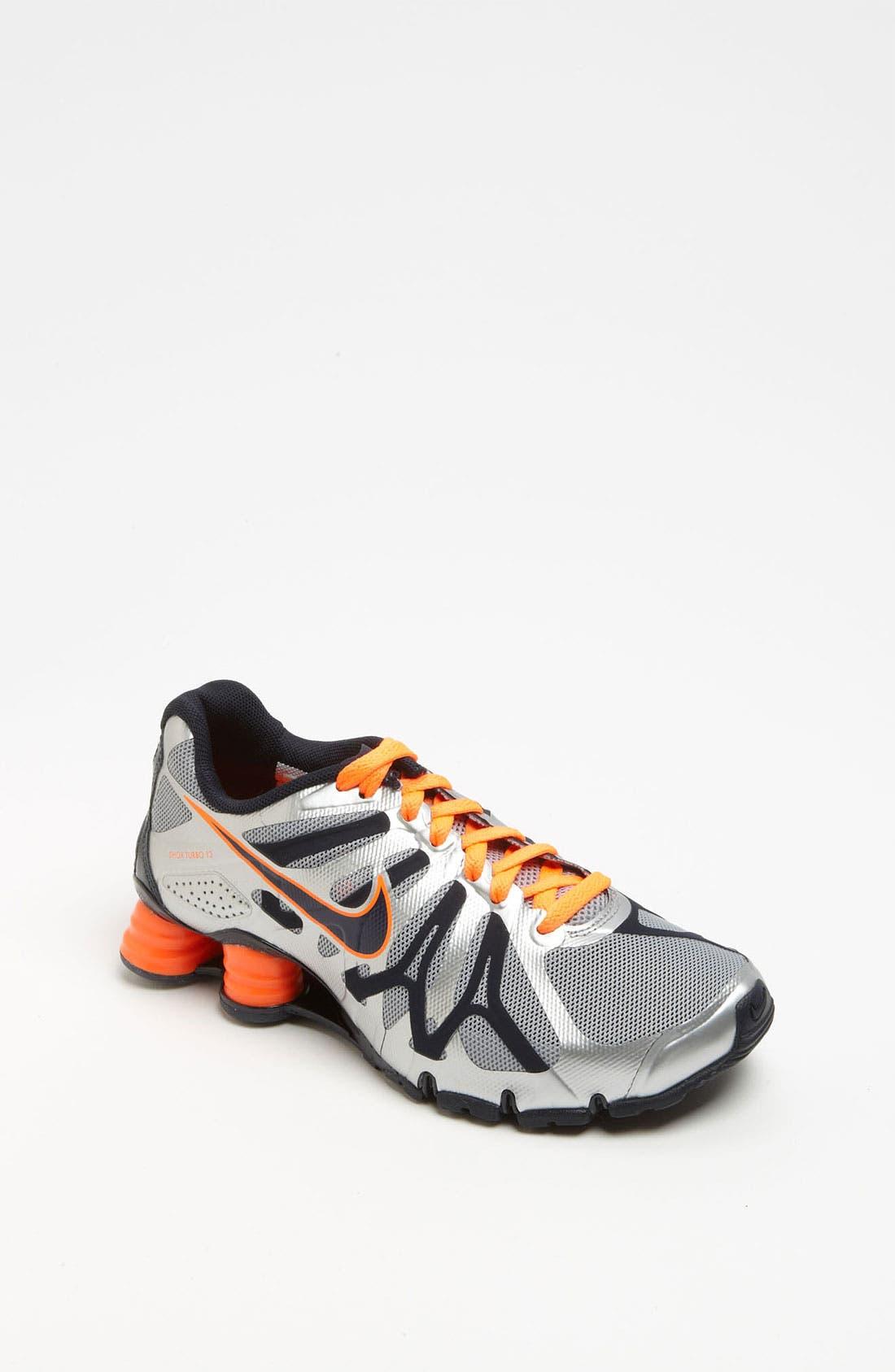 Alternate Image 1 Selected - Nike 'Shox Turbo 13' Running Shoe (Big Kid)