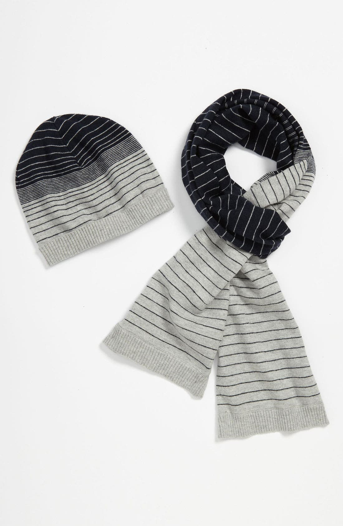Main Image - United Colors of Benetton Kids Hat & Scarf (Little Boys & Big Boys)
