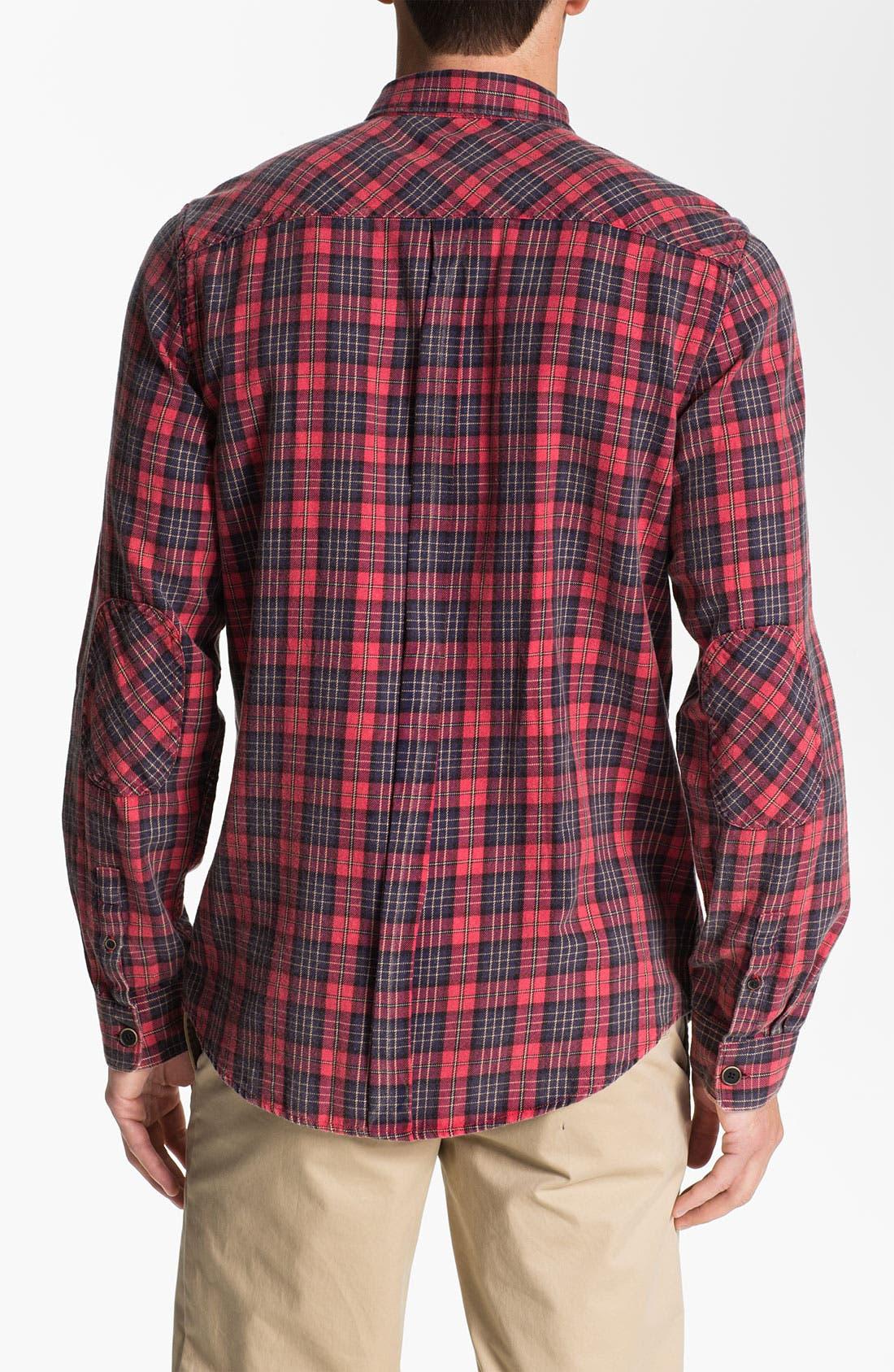 Alternate Image 2  - Ben Sherman 'Shoreditch' Plaid Twill Shirt