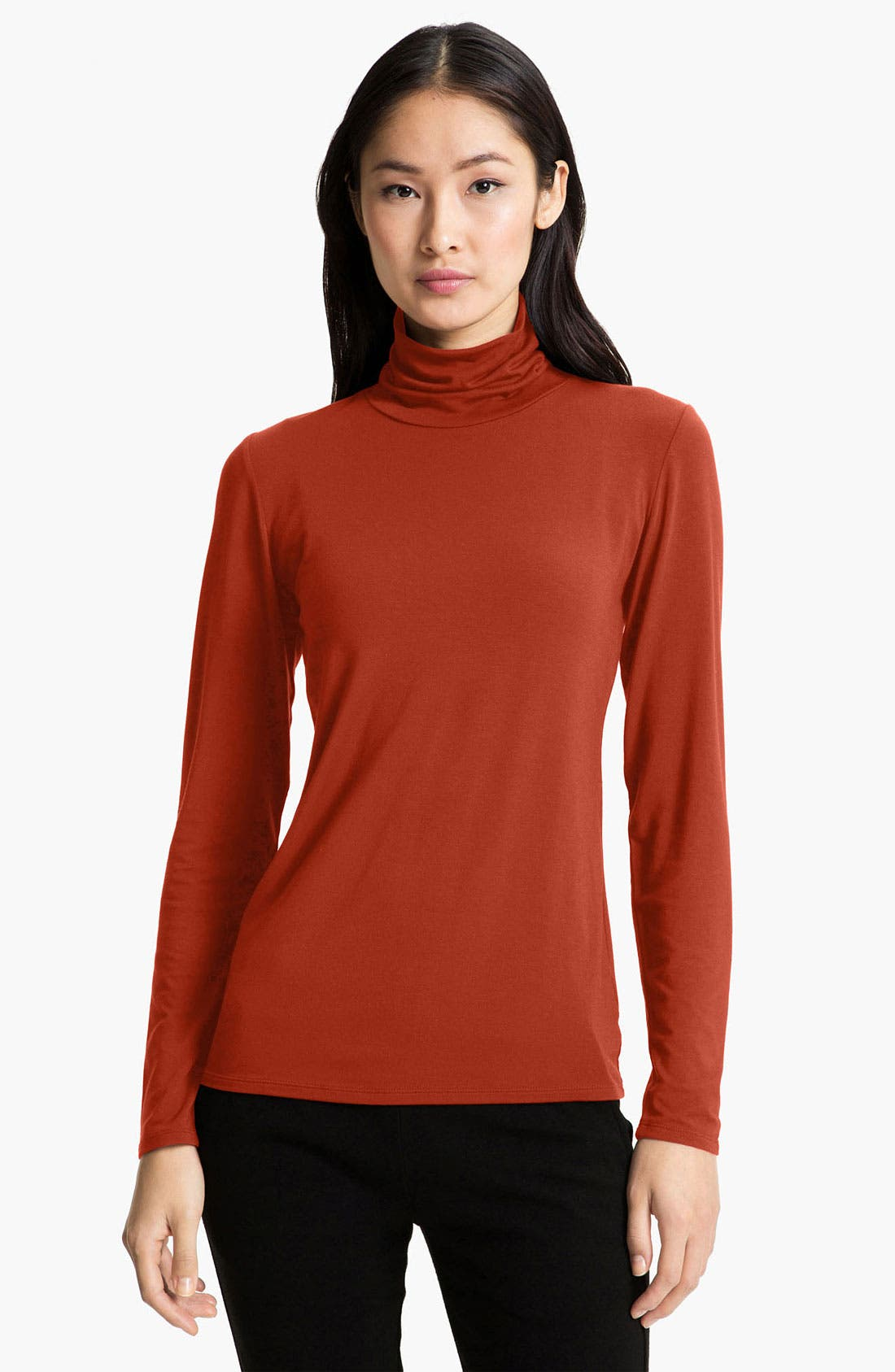 Alternate Image 1 Selected - Nordstrom Collection 'Ultimate' Stretch Modal Turtleneck Top