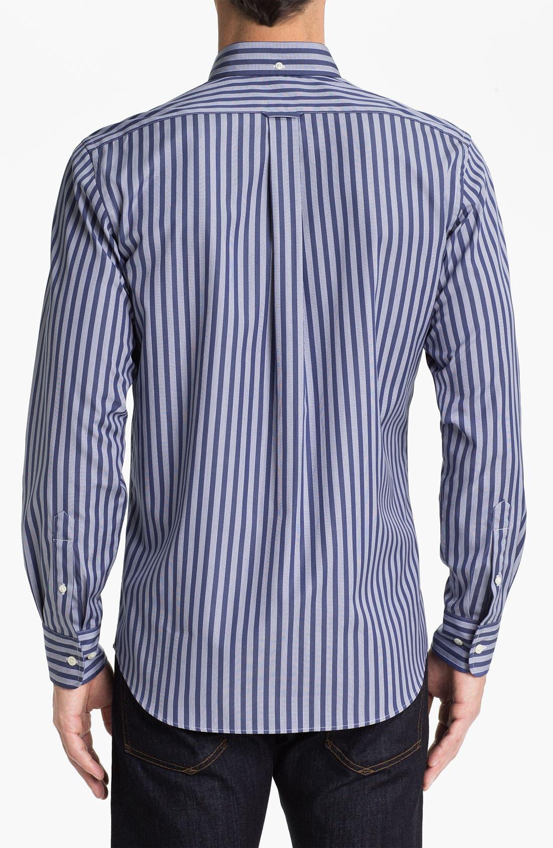 Façonnable Club Fit Sport Shirt,                             Alternate thumbnail 2, color,                             Blue