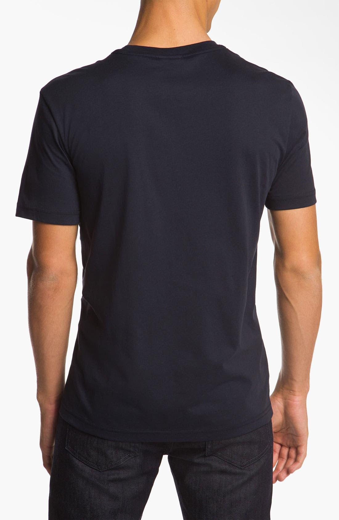 Alternate Image 2  - Lacoste Logo Screenprint T-Shirt