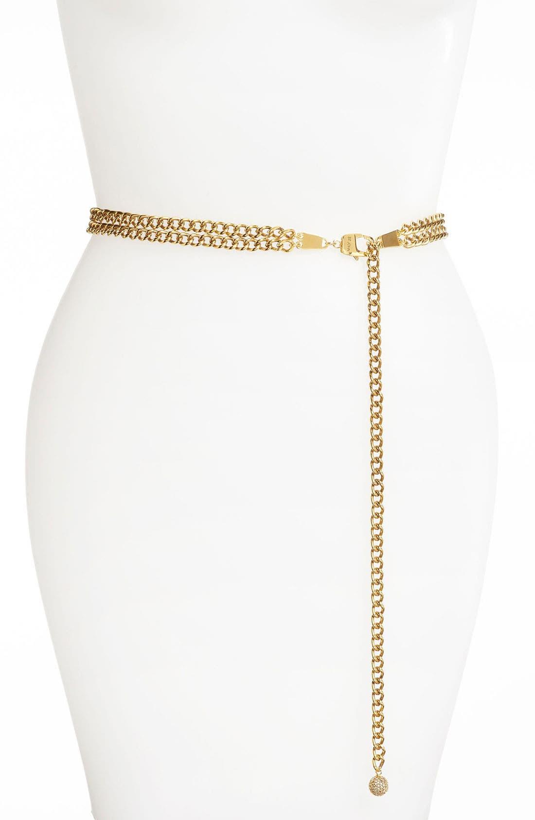 Main Image - St. John Collection Chain Belt