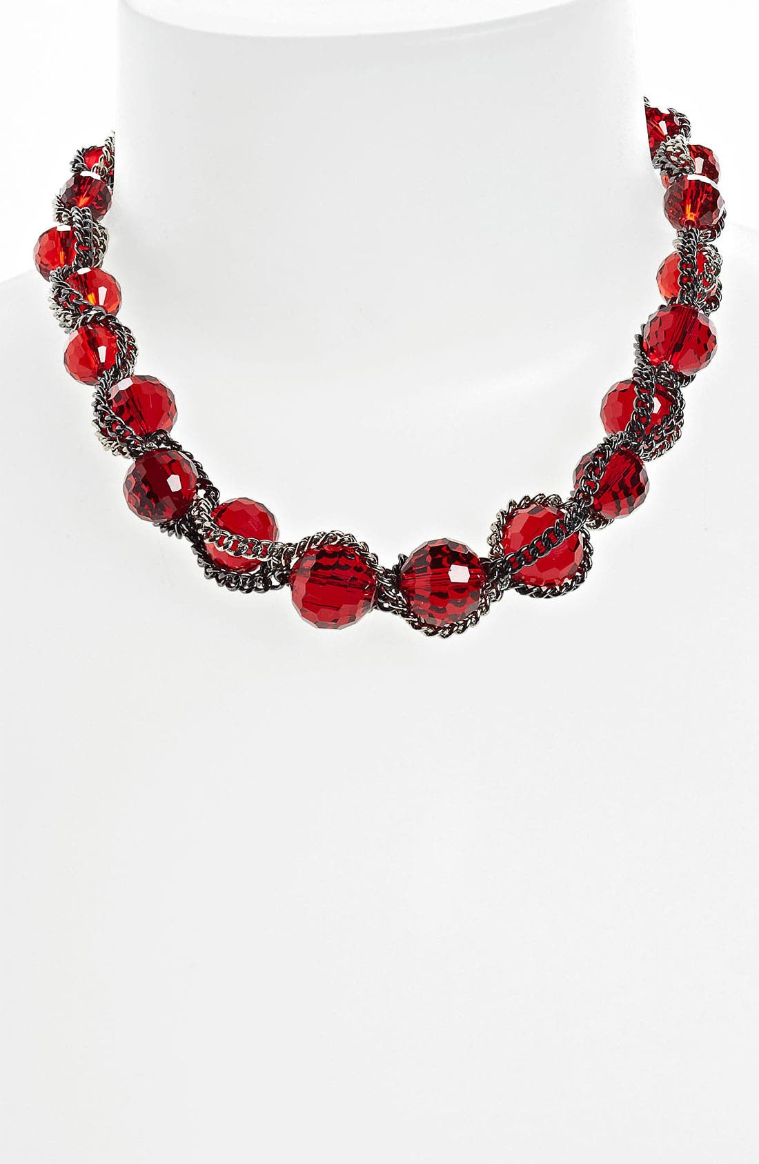 Alternate Image 1 Selected - Nordstrom Bead & Chain Collar Necklace