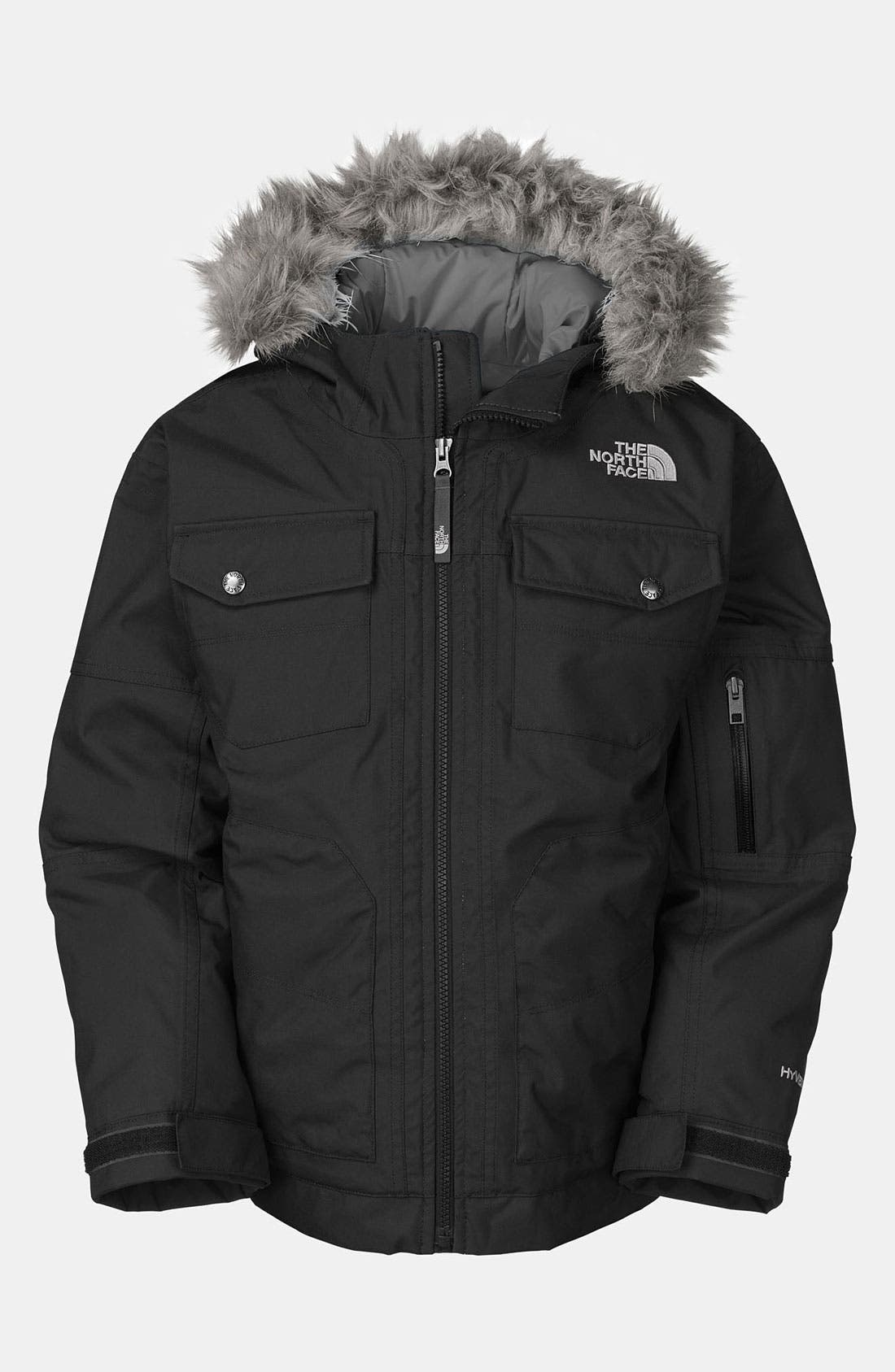 Main Image - The North Face 'Yellowband' Parka (Little Boys)