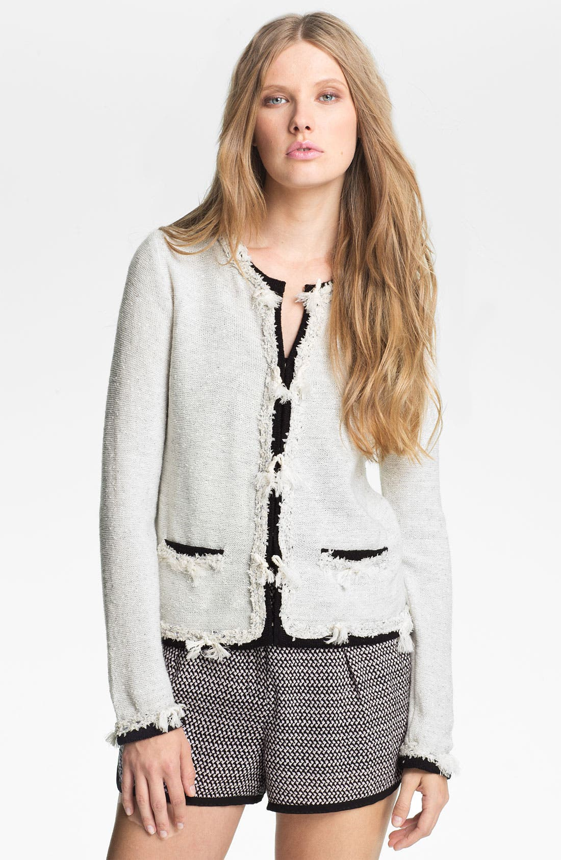 Alternate Image 1 Selected - Mcginn 'Annika' Knotted Cardigan
