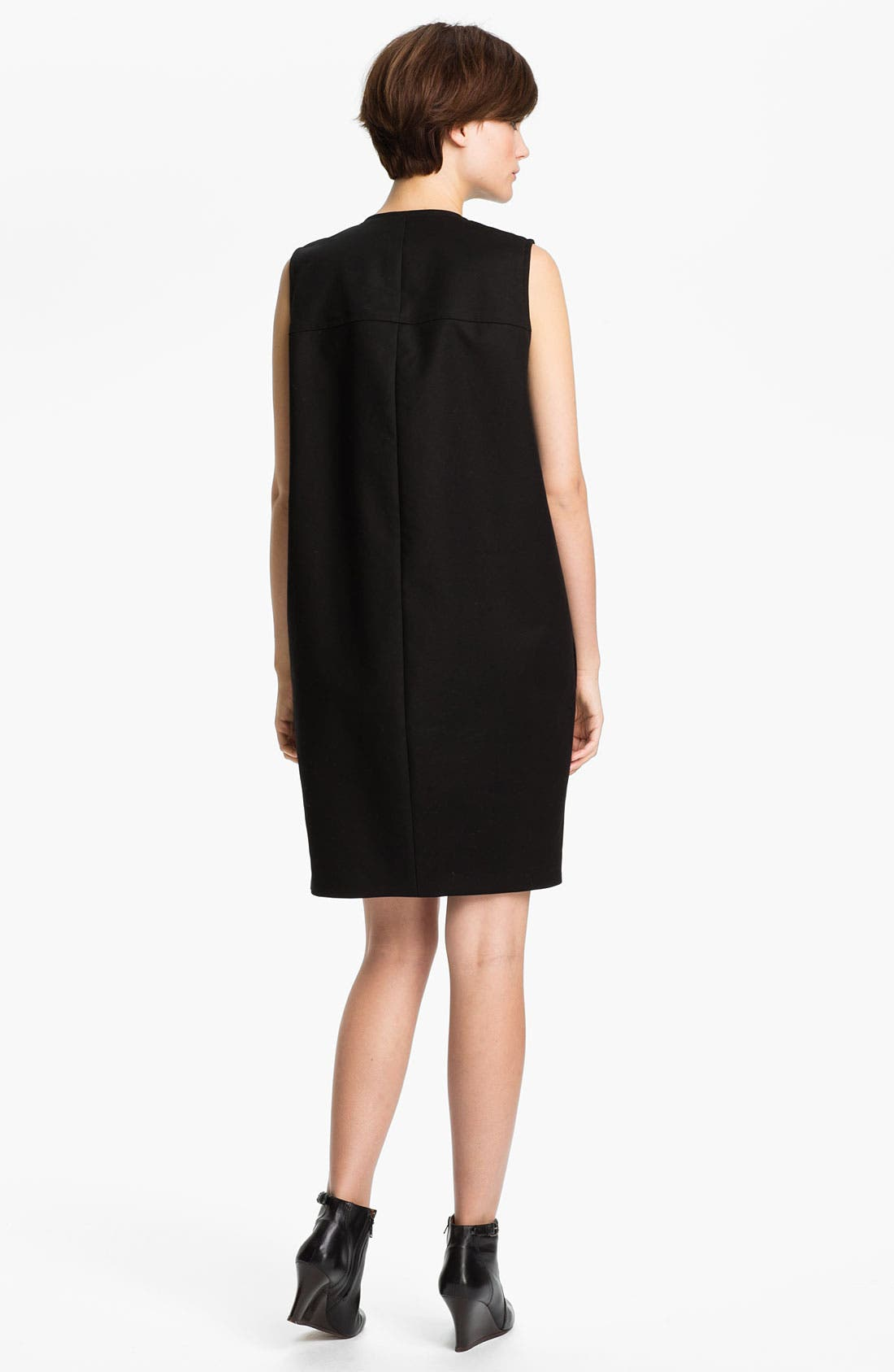 Alternate Image 2  - KENZO Side Belted Stretch Cotton Dress