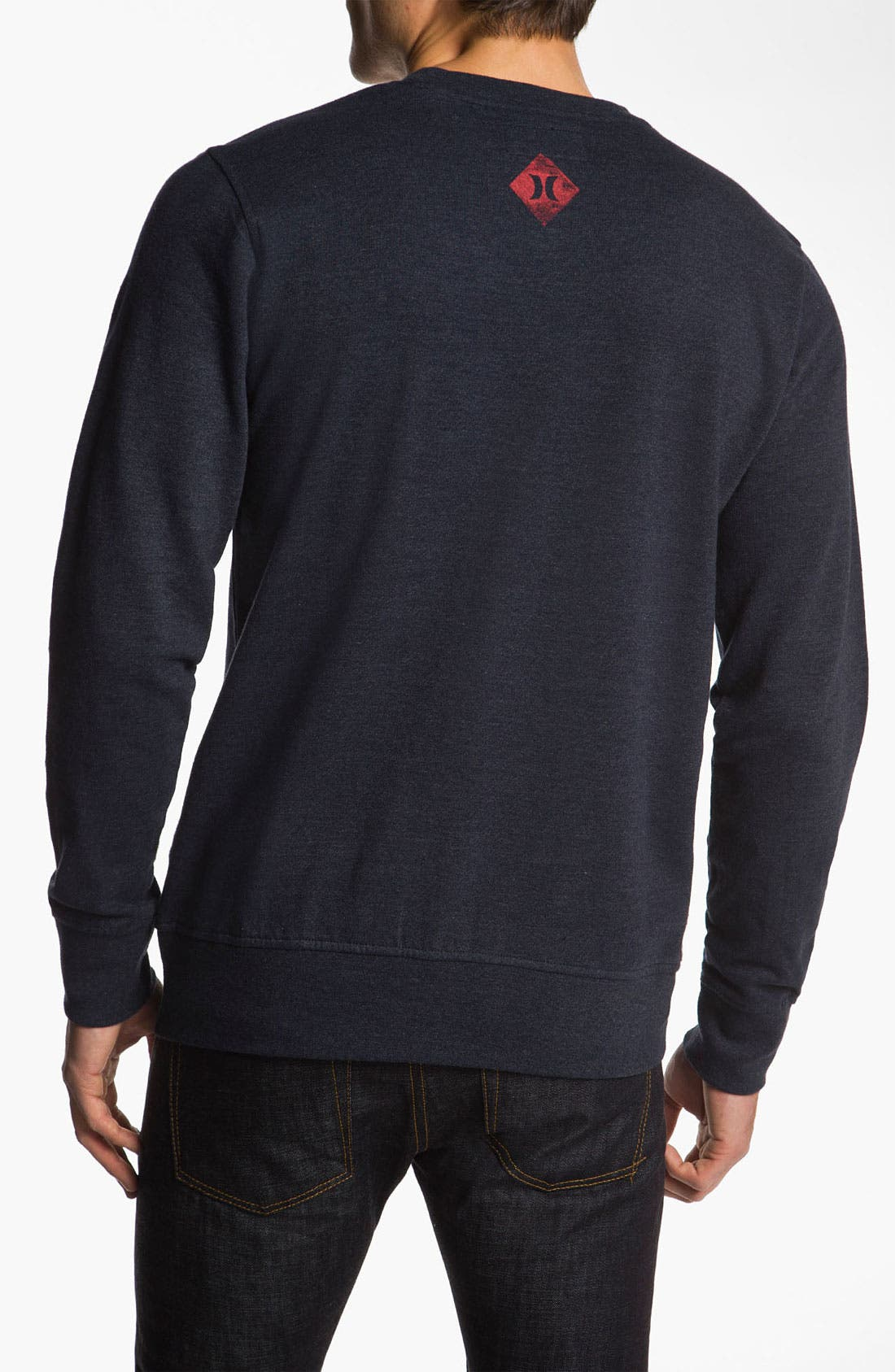 Alternate Image 2  - Hurley 'Striker' Crewneck Sweatshirt