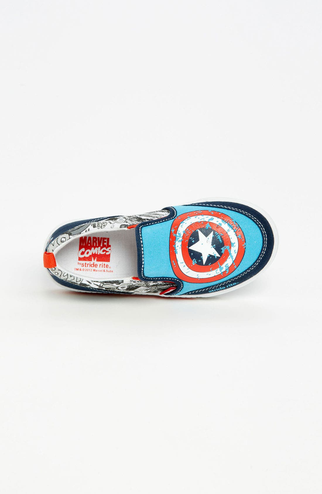 Alternate Image 3  - Stride Rite 'Captain America™' Sneaker (Toddler)