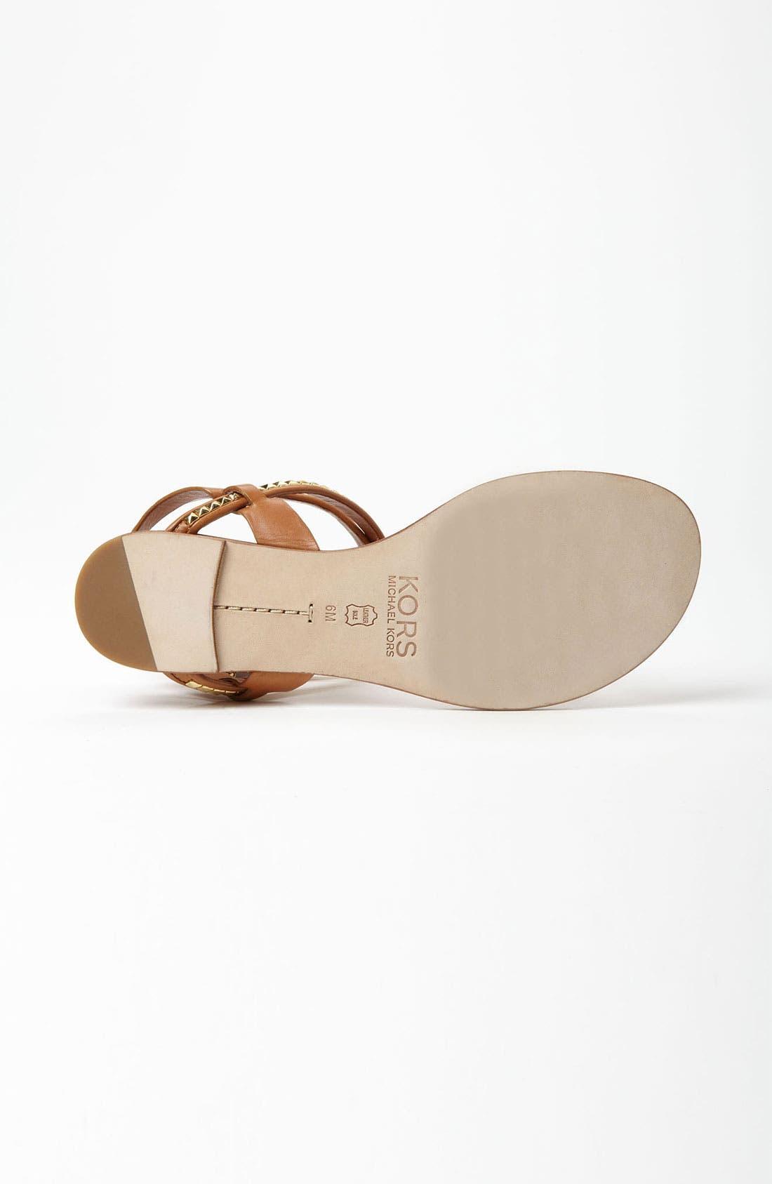Alternate Image 4  - KORS Michael Kors 'Jaina' Sandal