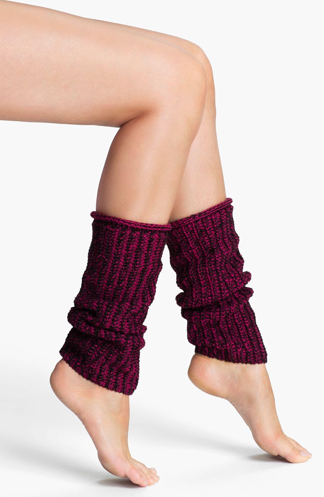 Main Image - Hue Slouchy Leg Warmers