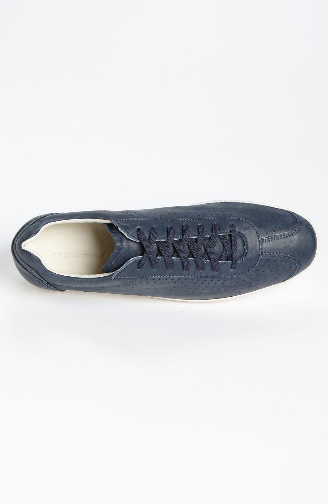 Alternate Image 3  - Dolce&Gabbana Perforated Sneaker
