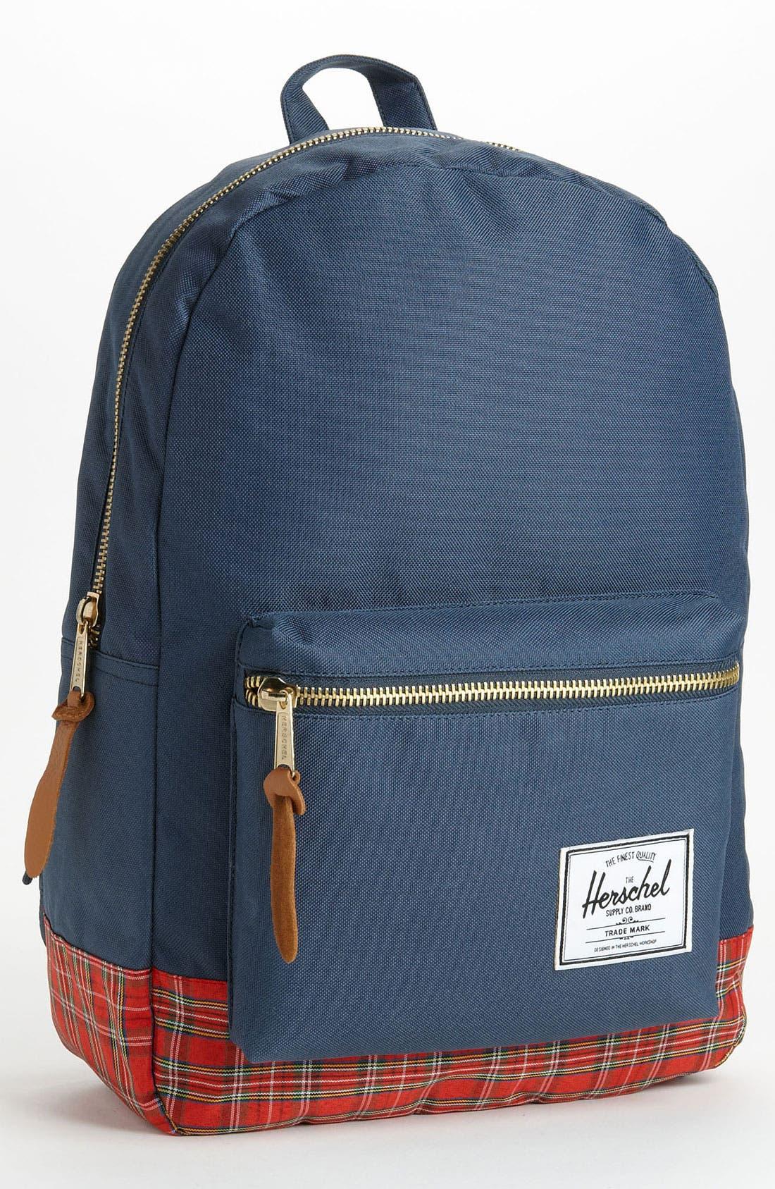 Alternate Image 1 Selected - Herschel Supply Co. 'Tartan Collection - Settlement' Backpack