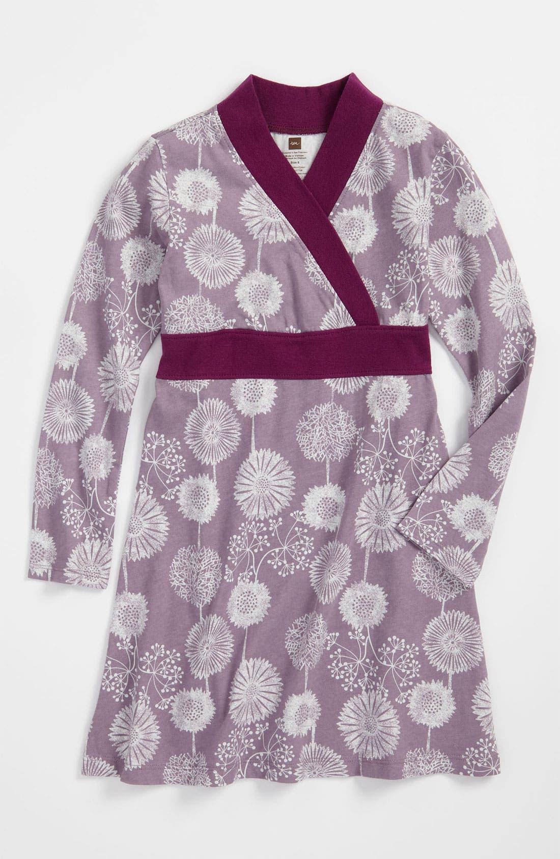 Main Image - Tea Collection Floral Wrap Dress (Toddler)