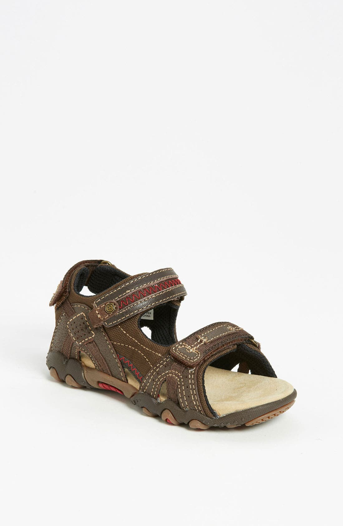 Alternate Image 1 Selected - Stride Rite 'Scooter' Sandal (Toddler & Little Kid)