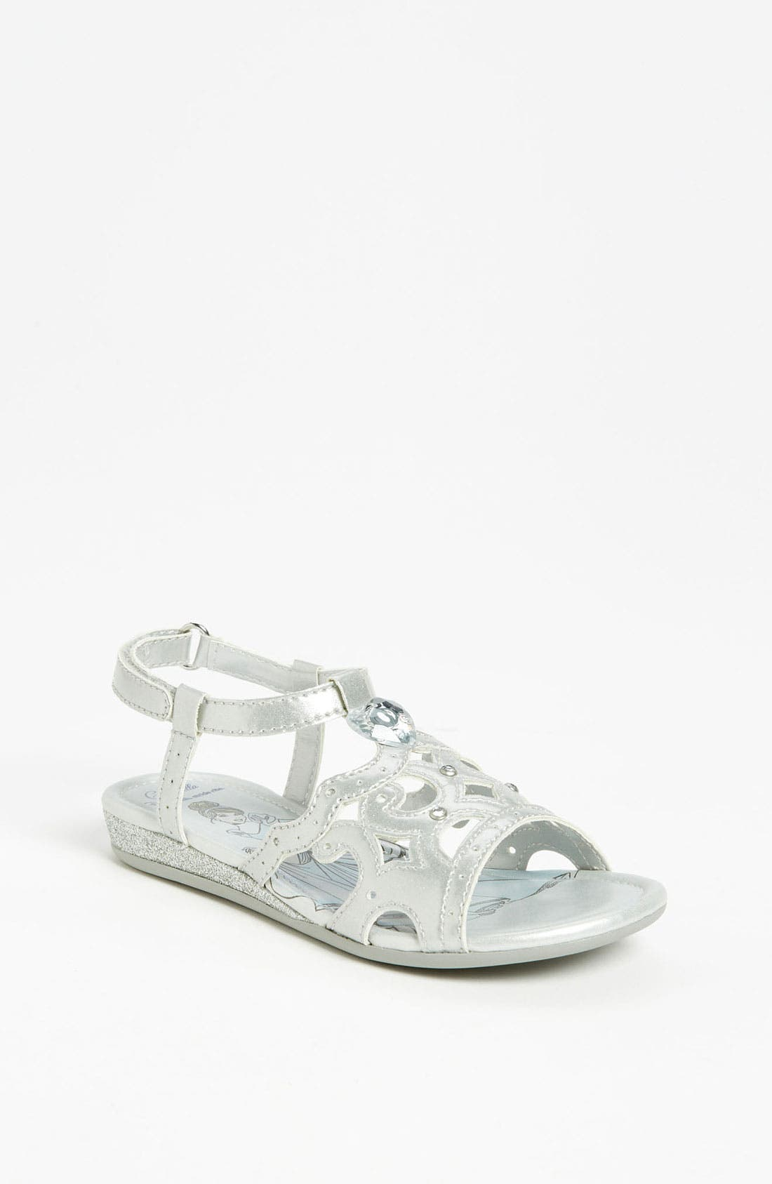 Alternate Image 1 Selected - Stride Rite 'Disney - Crown' Sandal (Toddler)