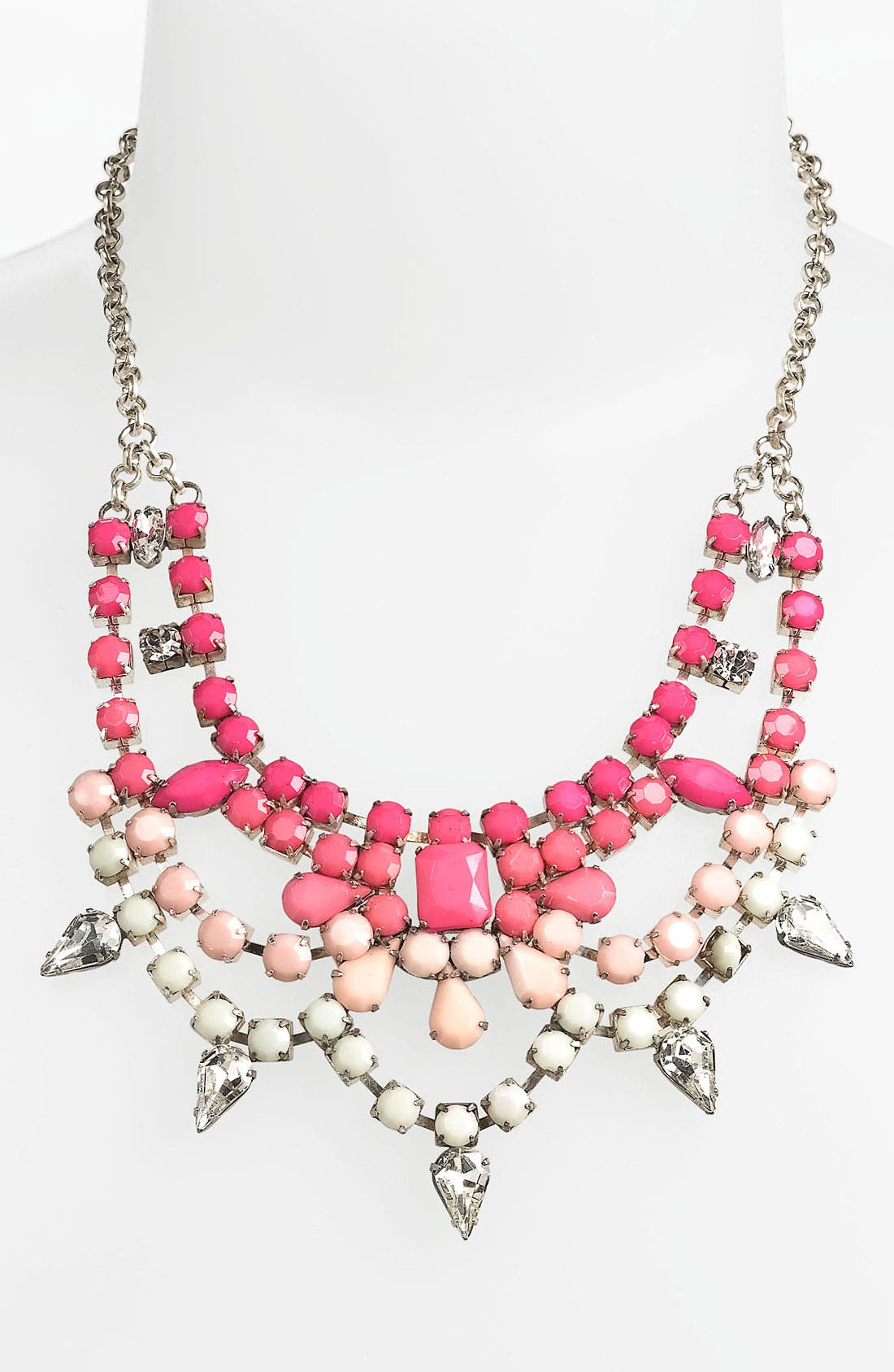 Alternate Image 1 Selected - Stephan & Co. Ombré Statement Necklace