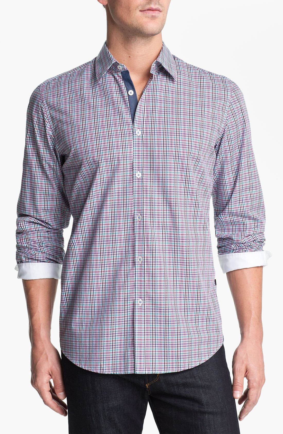 Main Image - BOSS Black 'Obert' Regular Fit Sport Shirt