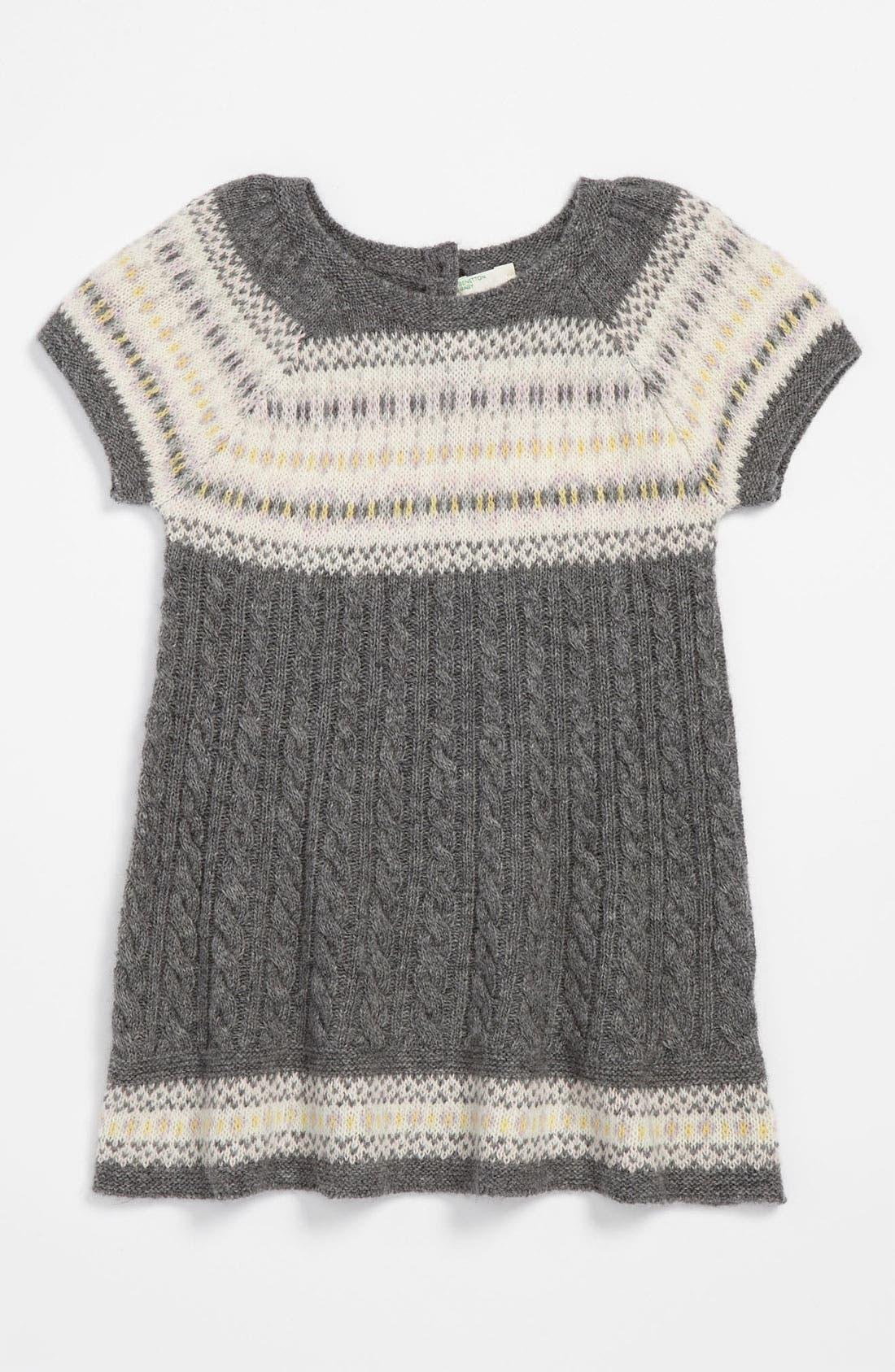 Alternate Image 1 Selected - United Colors of Benetton Kids Knit Dress (Infant)