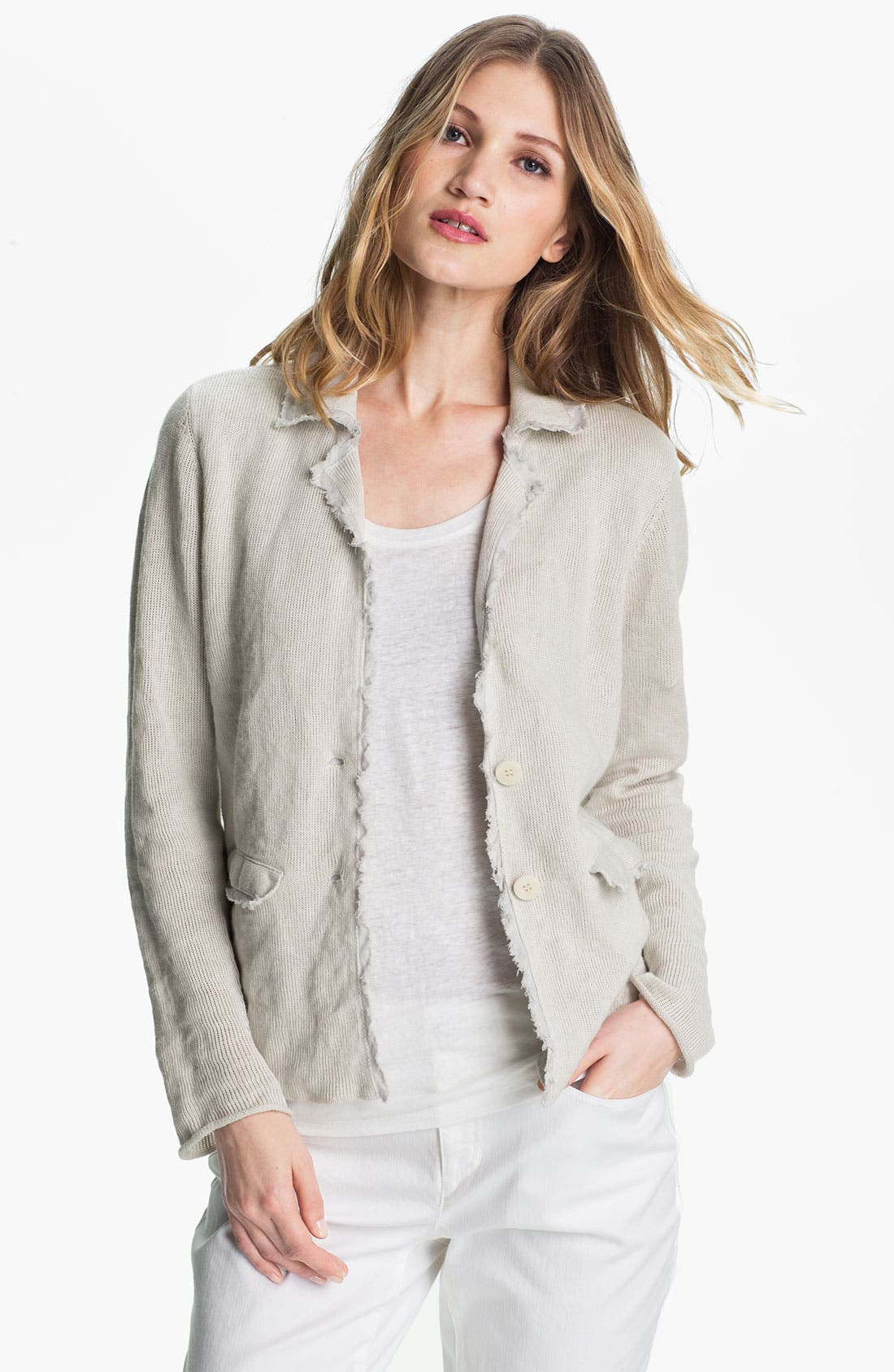 Alternate Image 1 Selected - Eileen Fisher Metallic Jacket