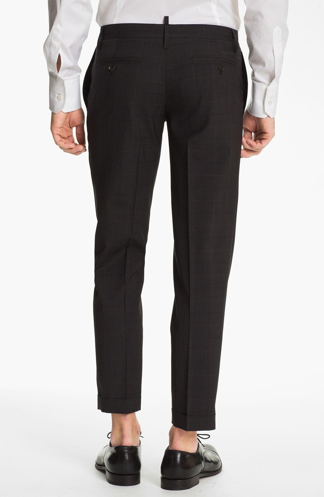 Alternate Image 5  - Dsquared2 Check Virgin Wool Suit