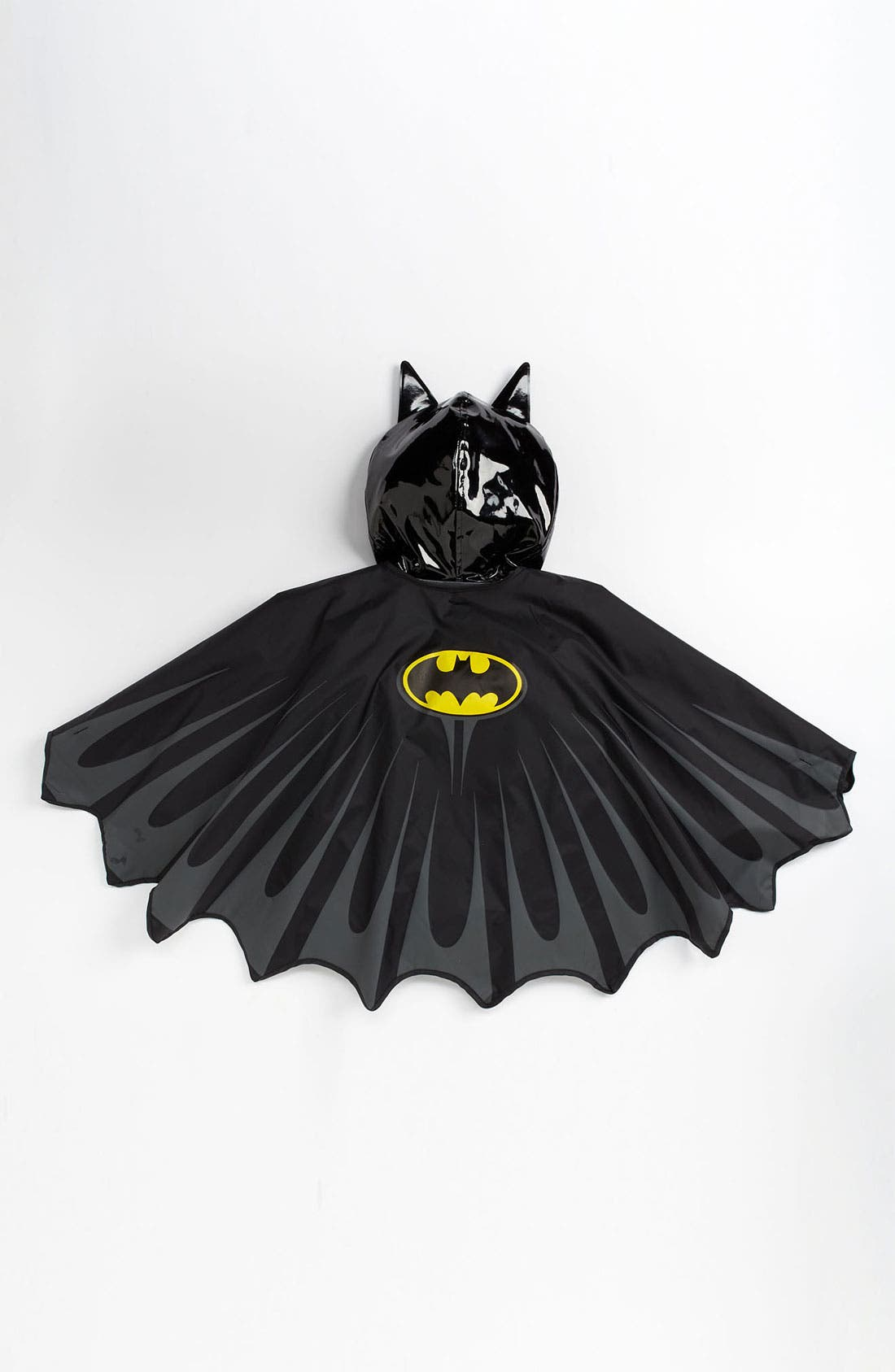 Alternate Image 4  - Western Chief 'Batman Everlasting' Light-Up Rain Coat (Toddler, Little Boys & Big Boys)