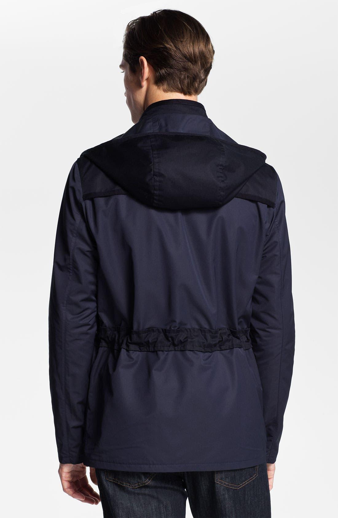 Alternate Image 2  - Salvatore Ferragamo Hooded Jacket