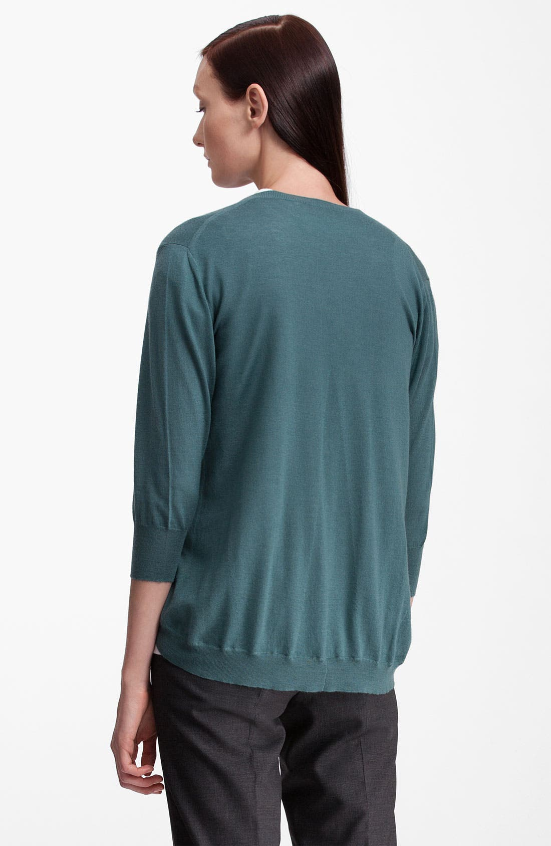 Alternate Image 2  - Marni Pocket Cashmere & Silk Cardigan