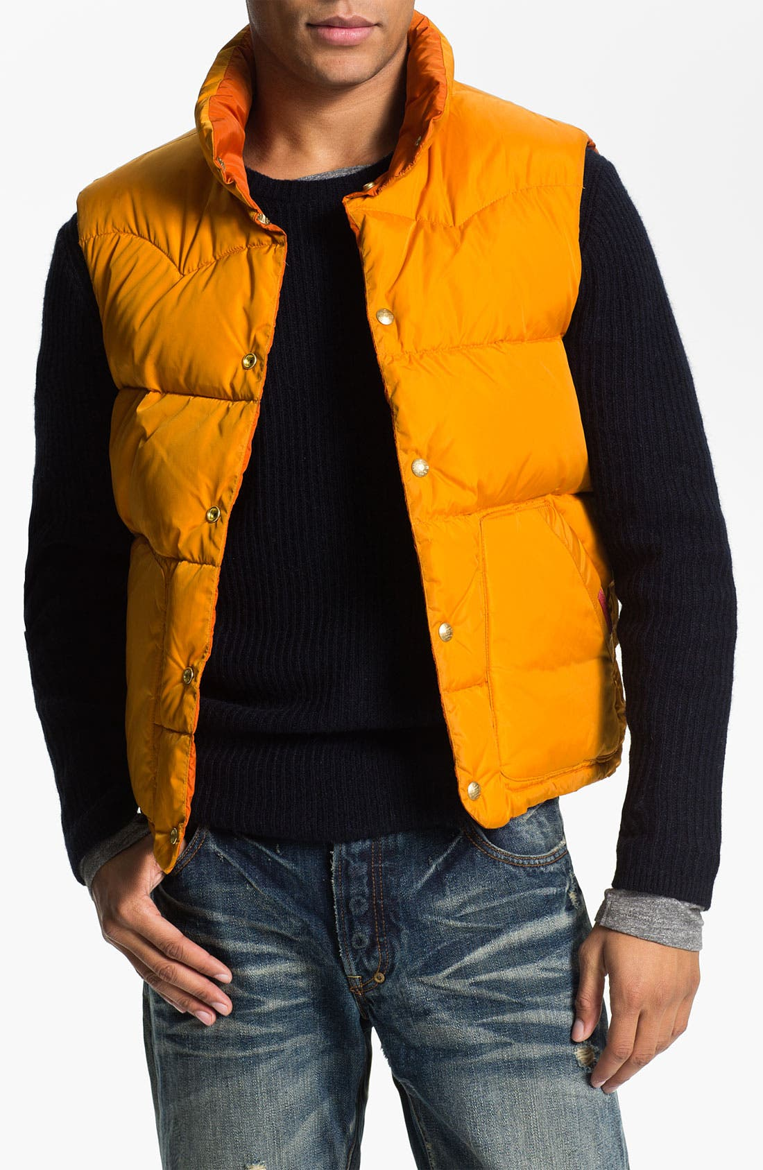 Alternate Image 4  - Scotch & Soda Reversible Quilted Vest