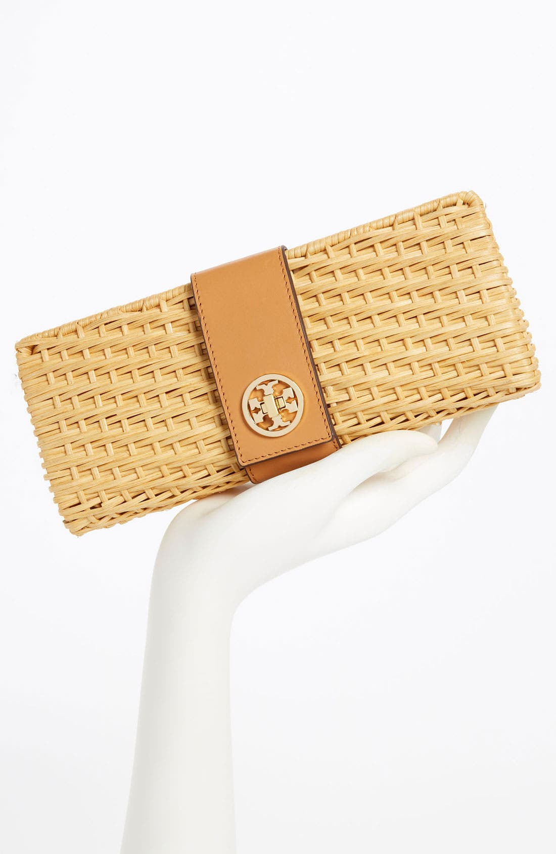 Alternate Image 2  - Tory Burch 'Lac' Rattan Clutch