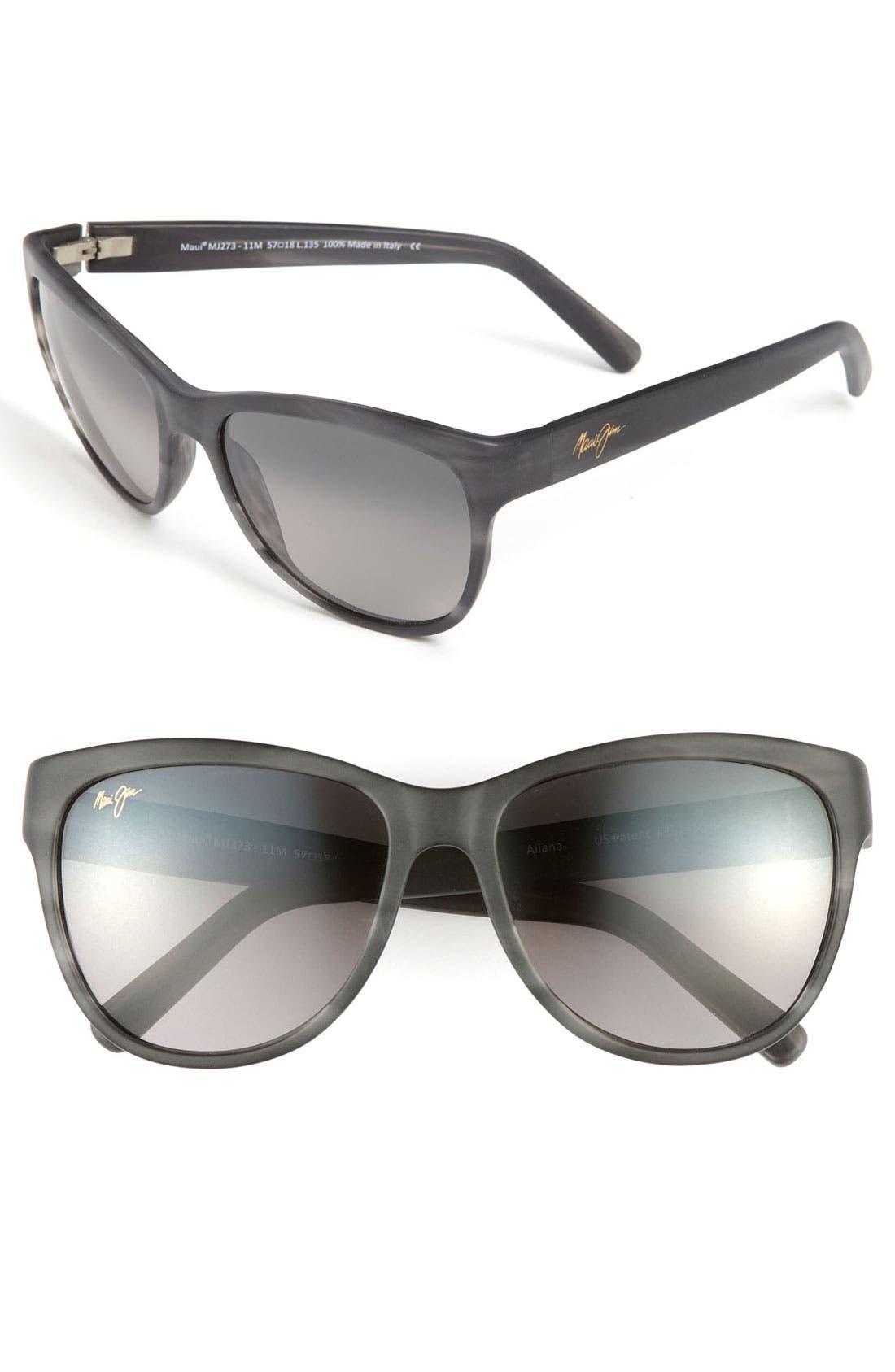Alternate Image 1 Selected - Maui Jim 'Ailana' 57mm Sunglasses