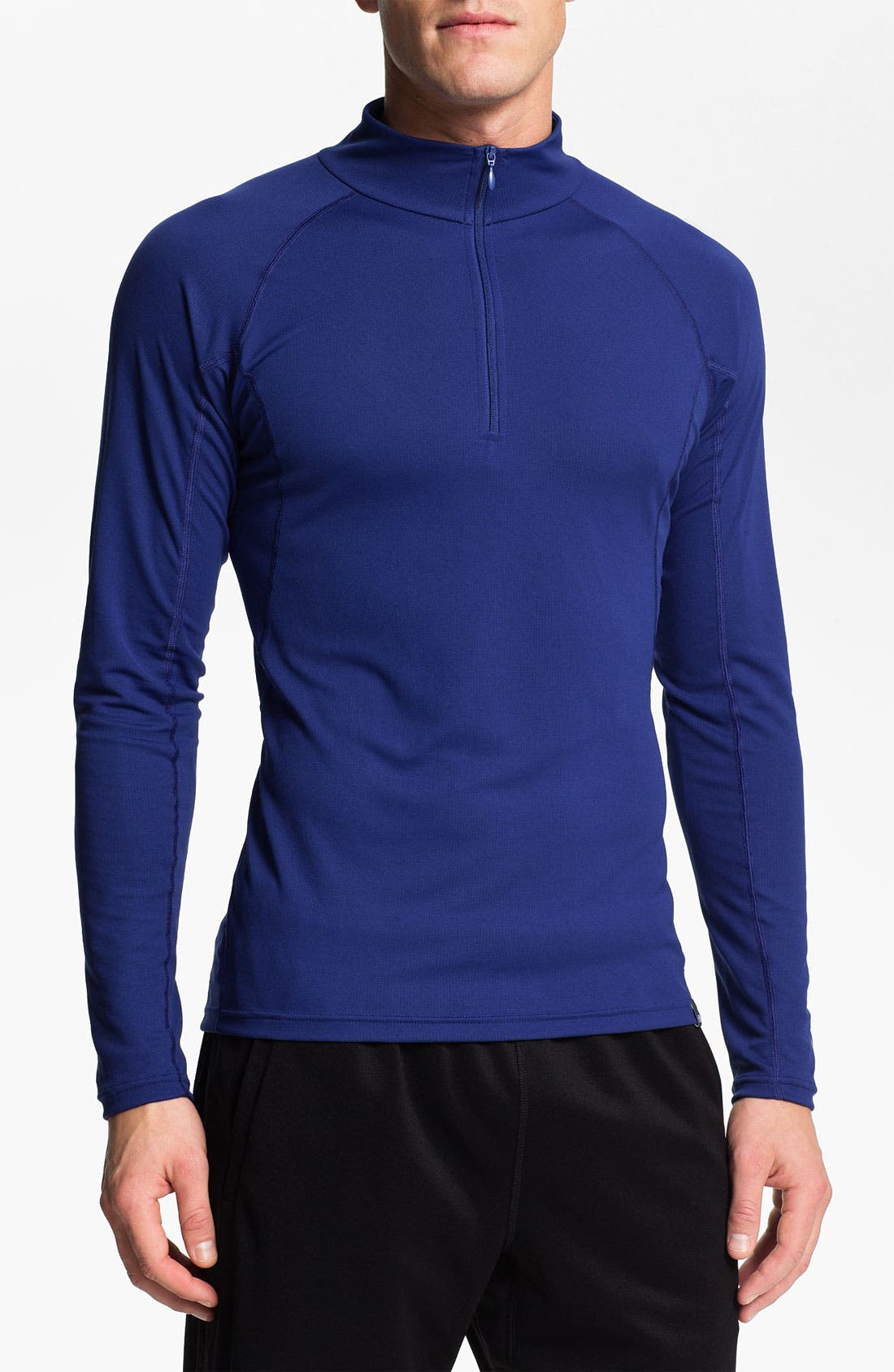 Alternate Image 1 Selected - The North Face 'Baselayer - Light' FlashDry™ Technical Zip Neck T-Shirt (Online Only)