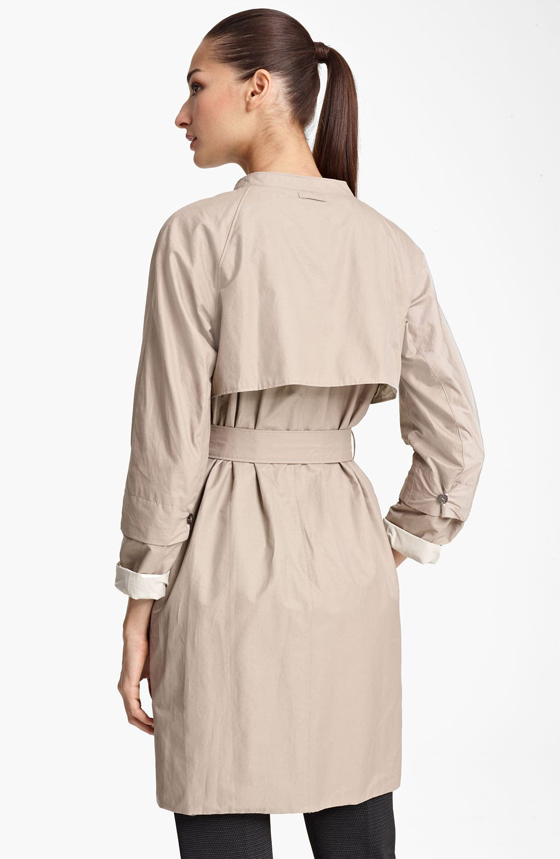 Alternate Image 2  - Max Mara Belted Trench Coat