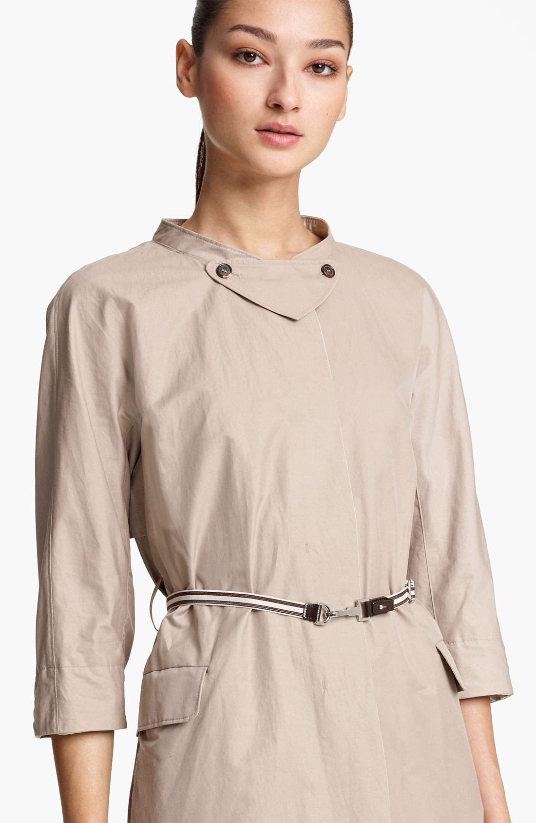 Alternate Image 3  - Max Mara Belted Trench Coat