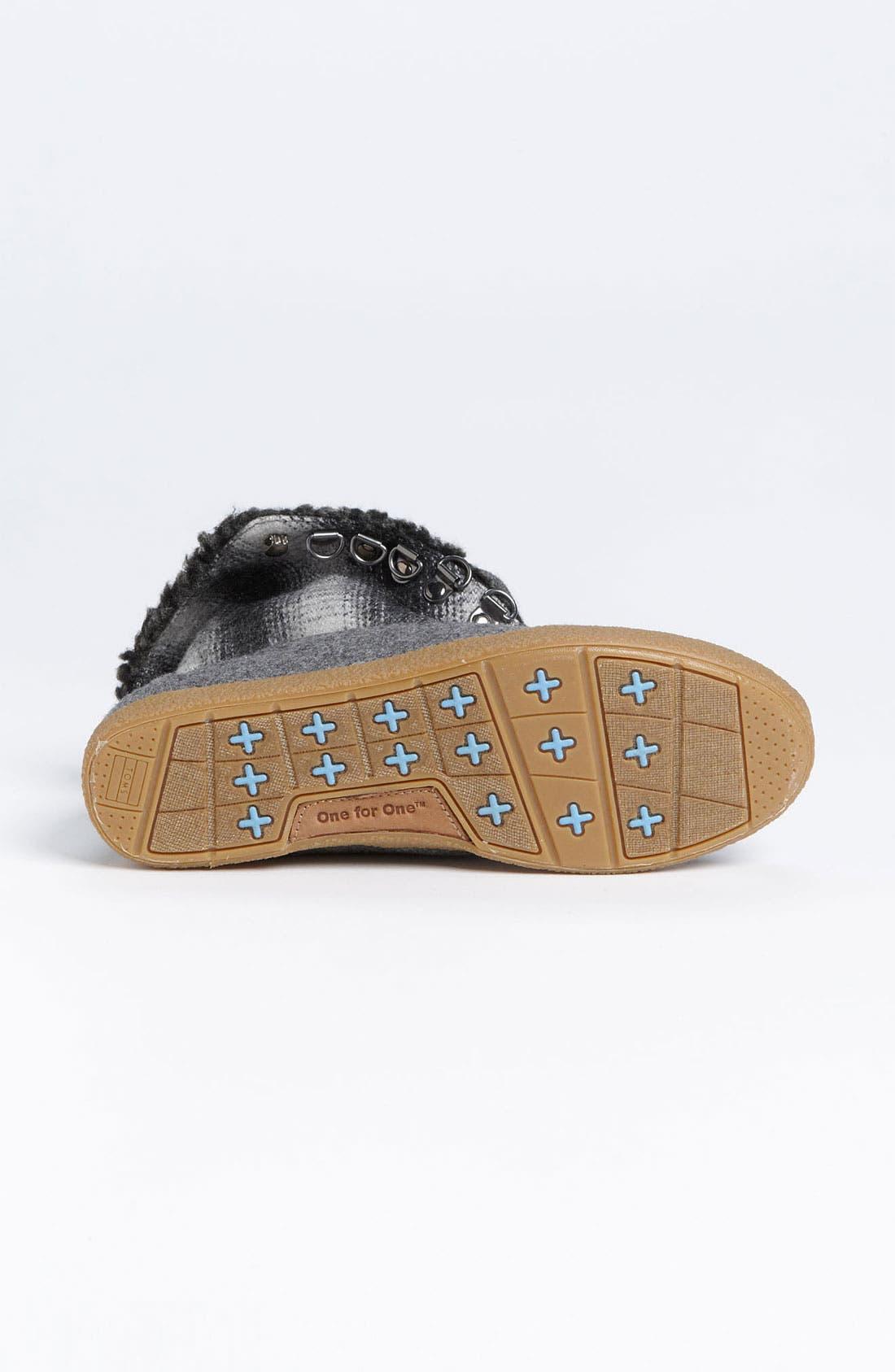 Alternate Image 4  - TOMS 'Botas - Mix Plaid' Boot (Women)