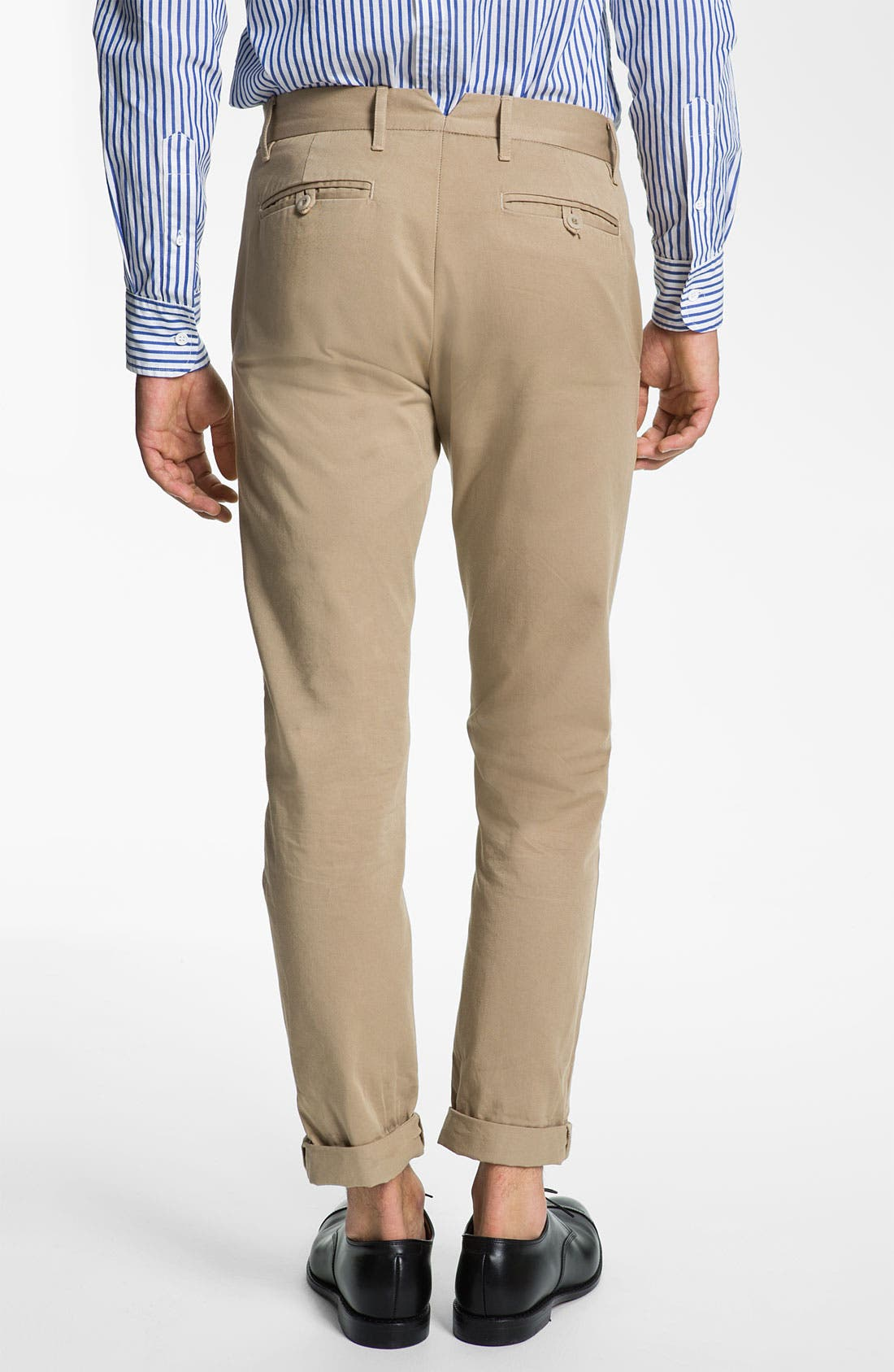 Alternate Image 2  - Band of Outsiders Slim Fit Twill Cotton Chinos
