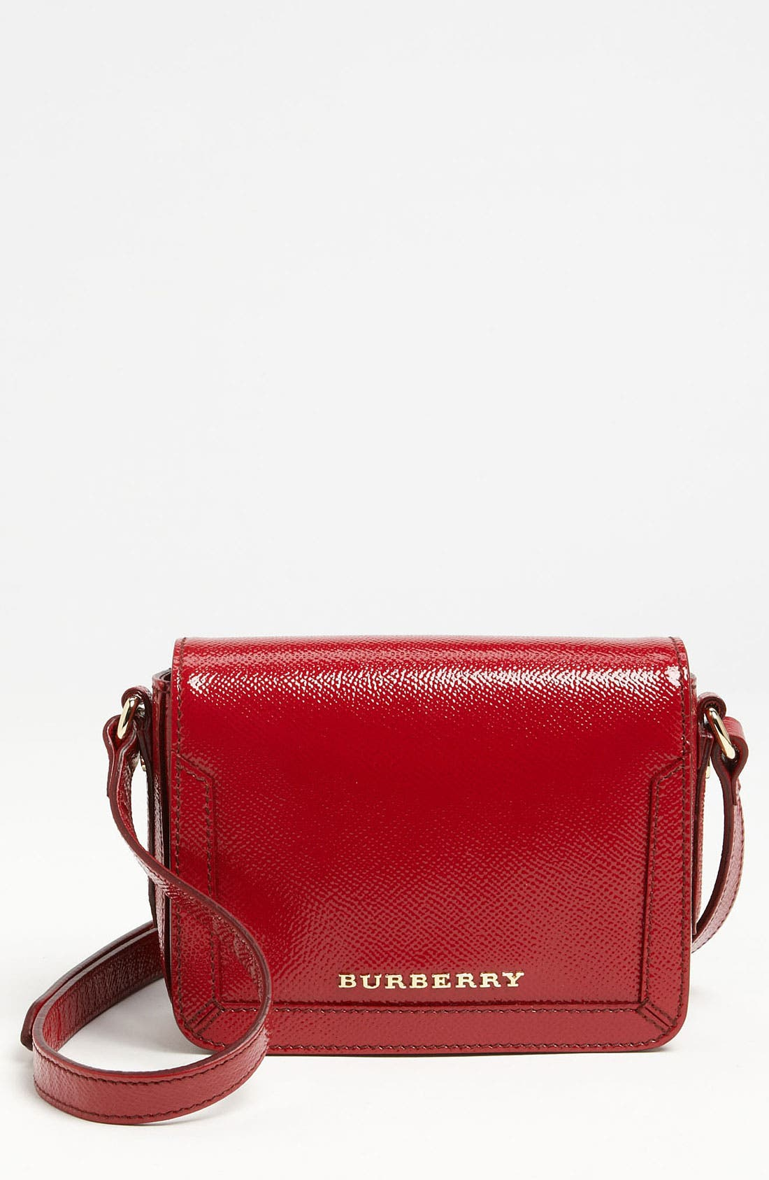Main Image - Burberry 'Ladies London' Leather Crossbody Bag