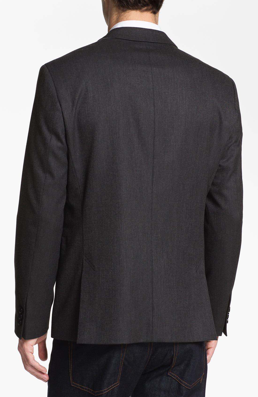 Alternate Image 2  - BOSS Black 'Coastes' Trim Fit Blazer