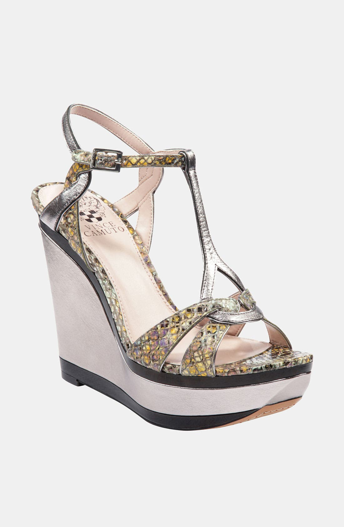 Alternate Image 1 Selected - Vince Camuto 'Casidy' Wedge Sandal (Online Only)