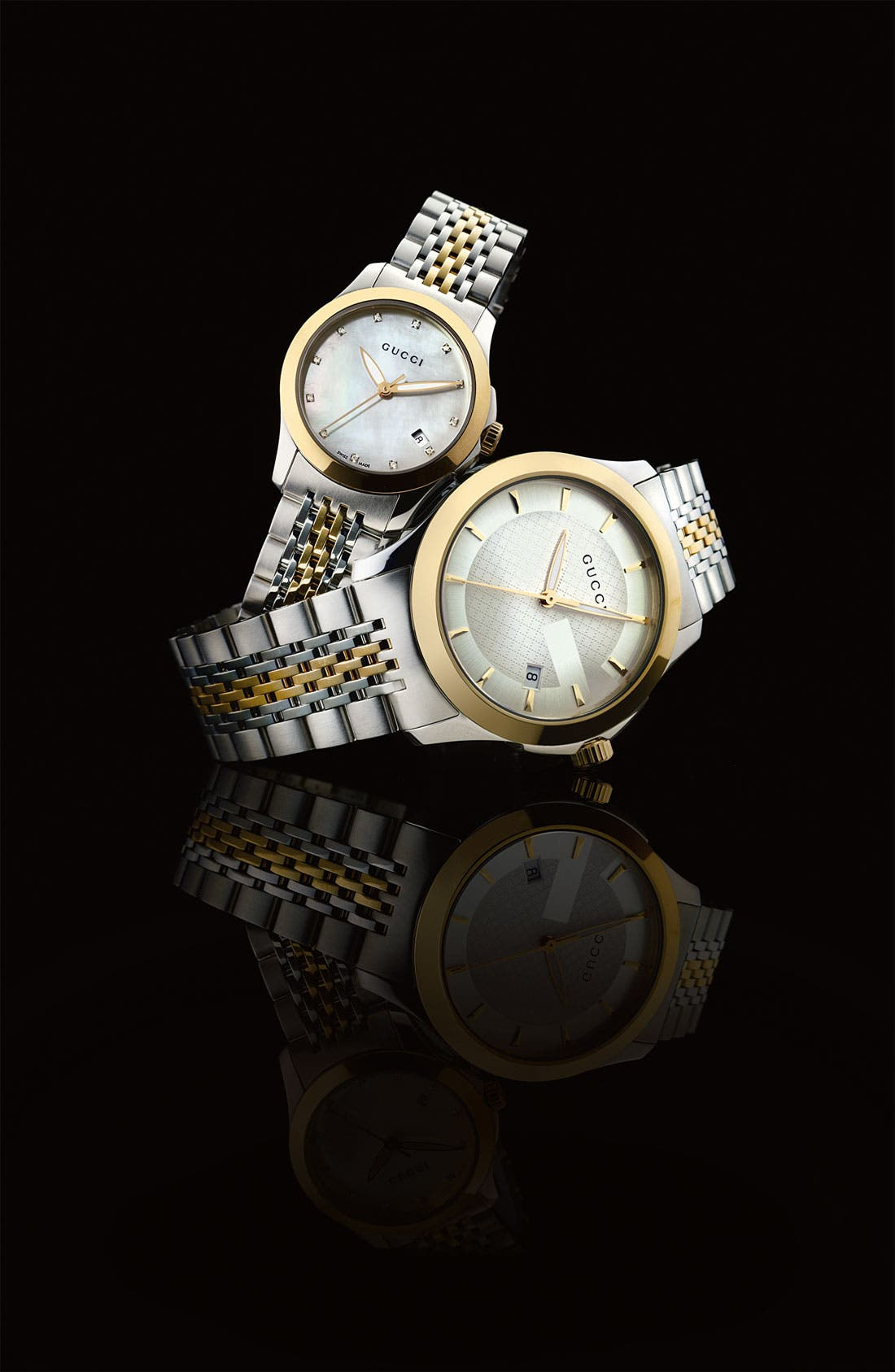 Alternate Image 2  - Gucci 'G Timeless' Medium Bracelet Watch, 38mm